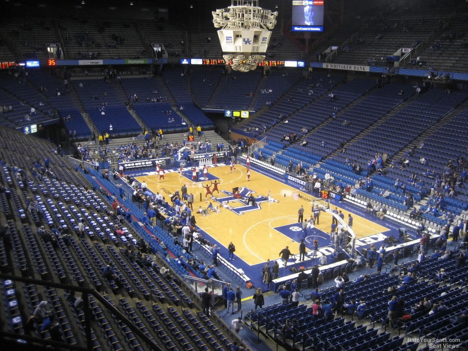 Seat View For Rupp Arena Section 225