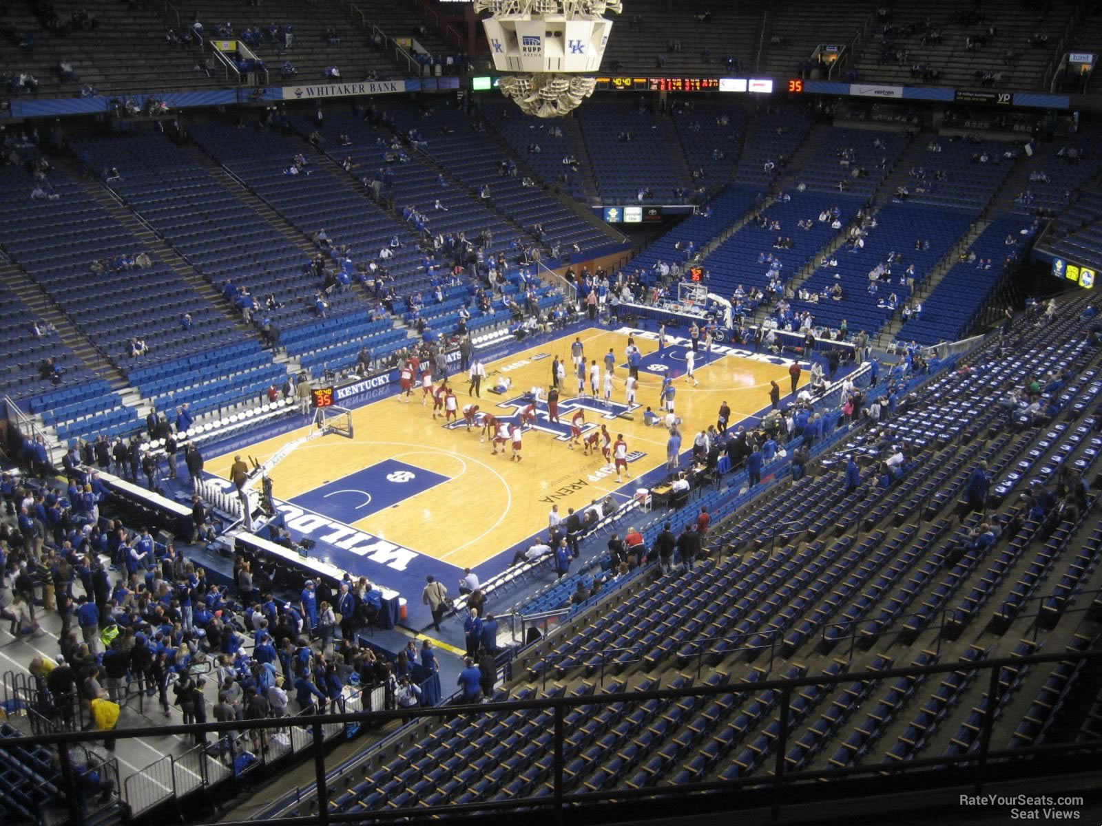 Rupp Arena Section 235 Kentucky Basketball Rateyourseats Com