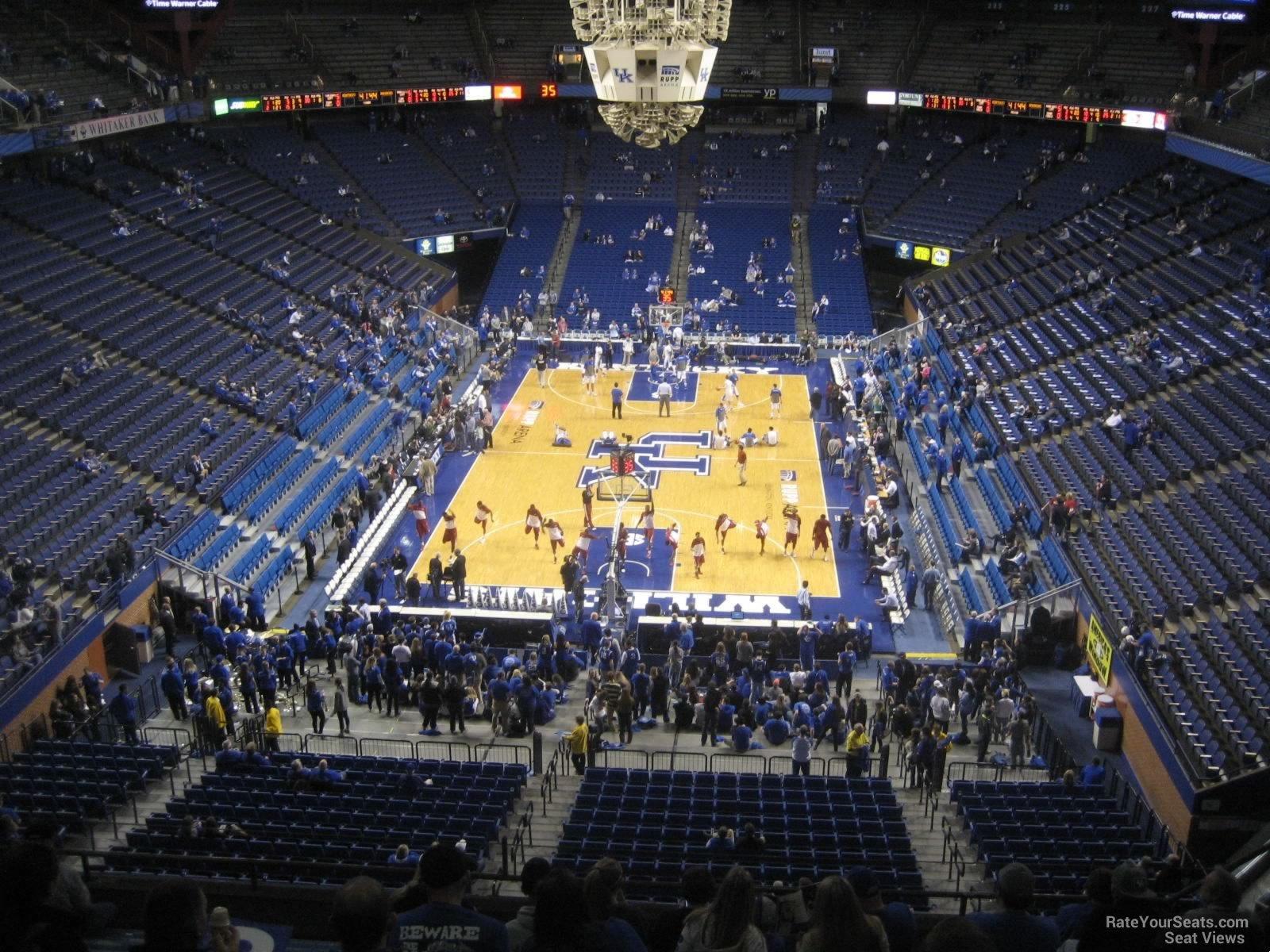 Rupp Arena Section 240 Kentucky Basketball