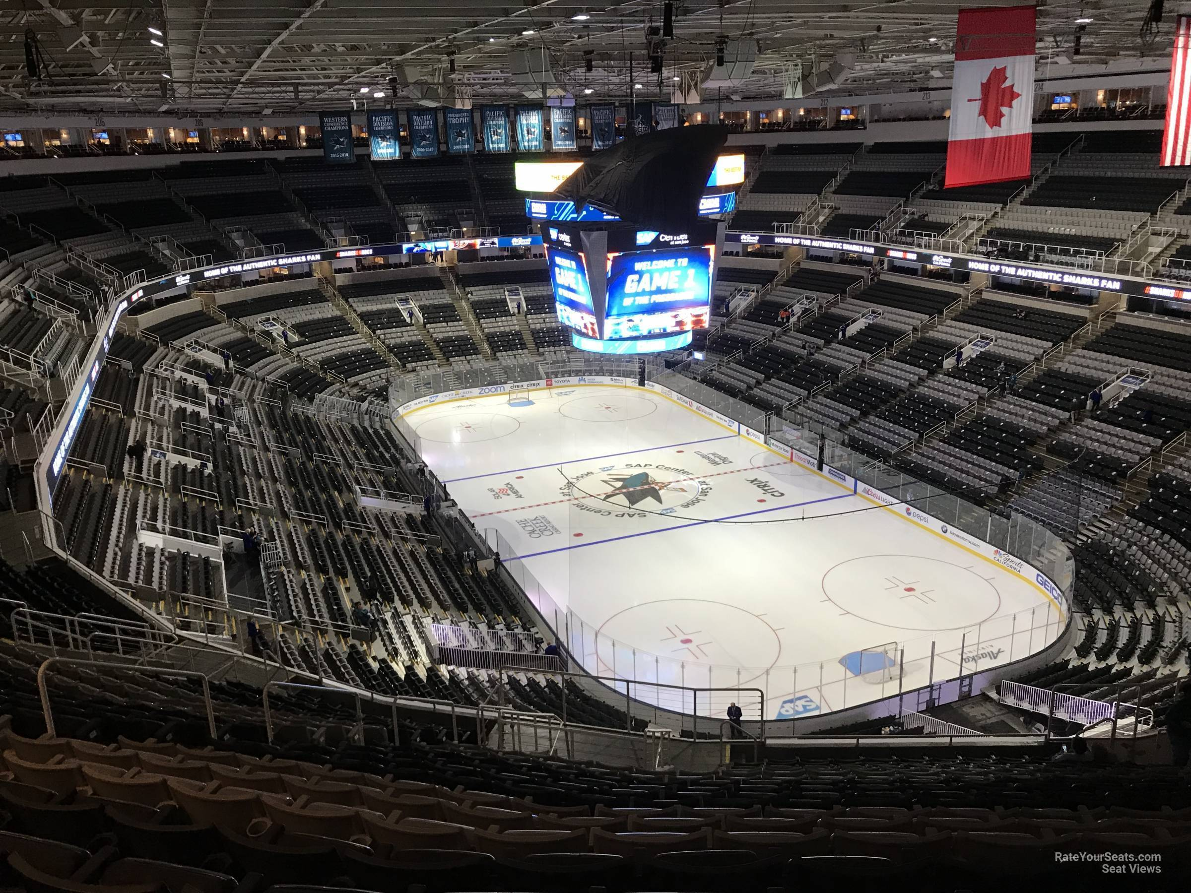 Section 224 seat view