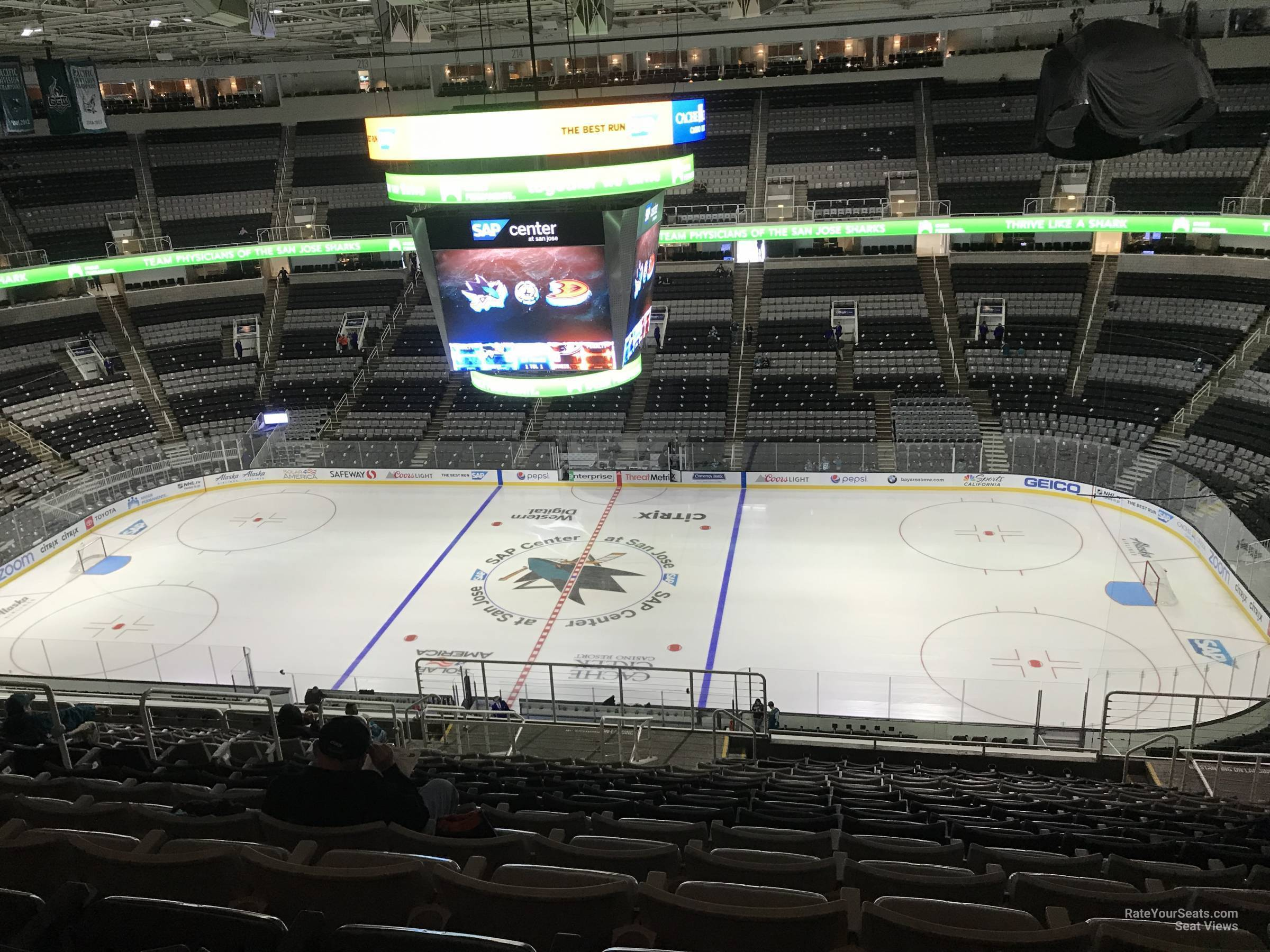 Section 228 seat view
