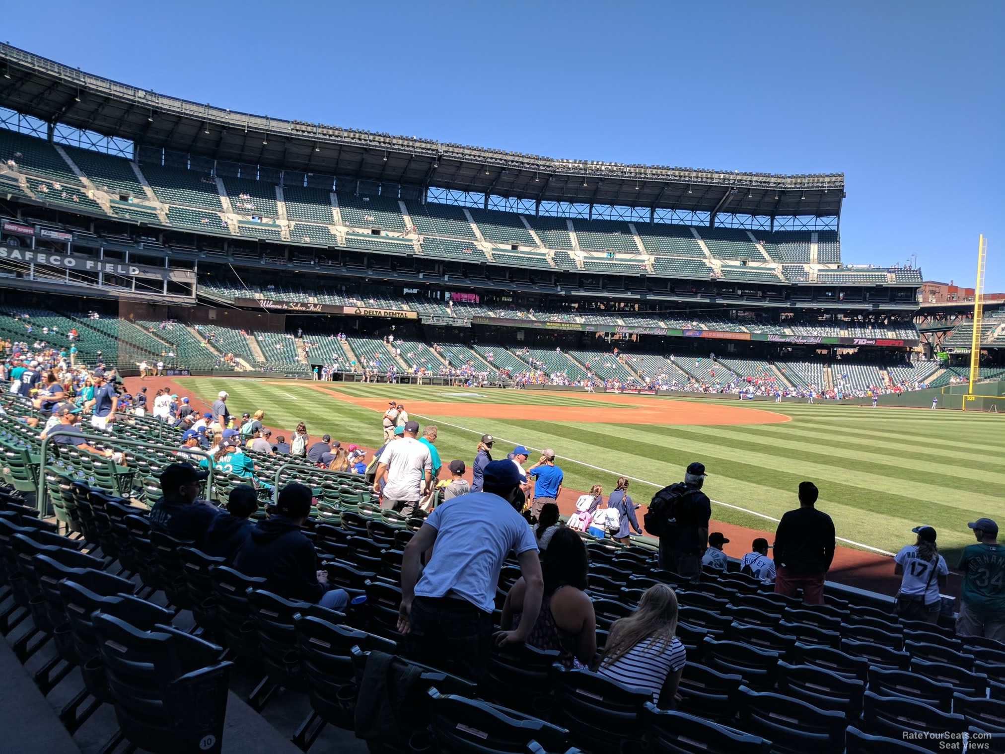 Seat View for Safeco Field Section 114