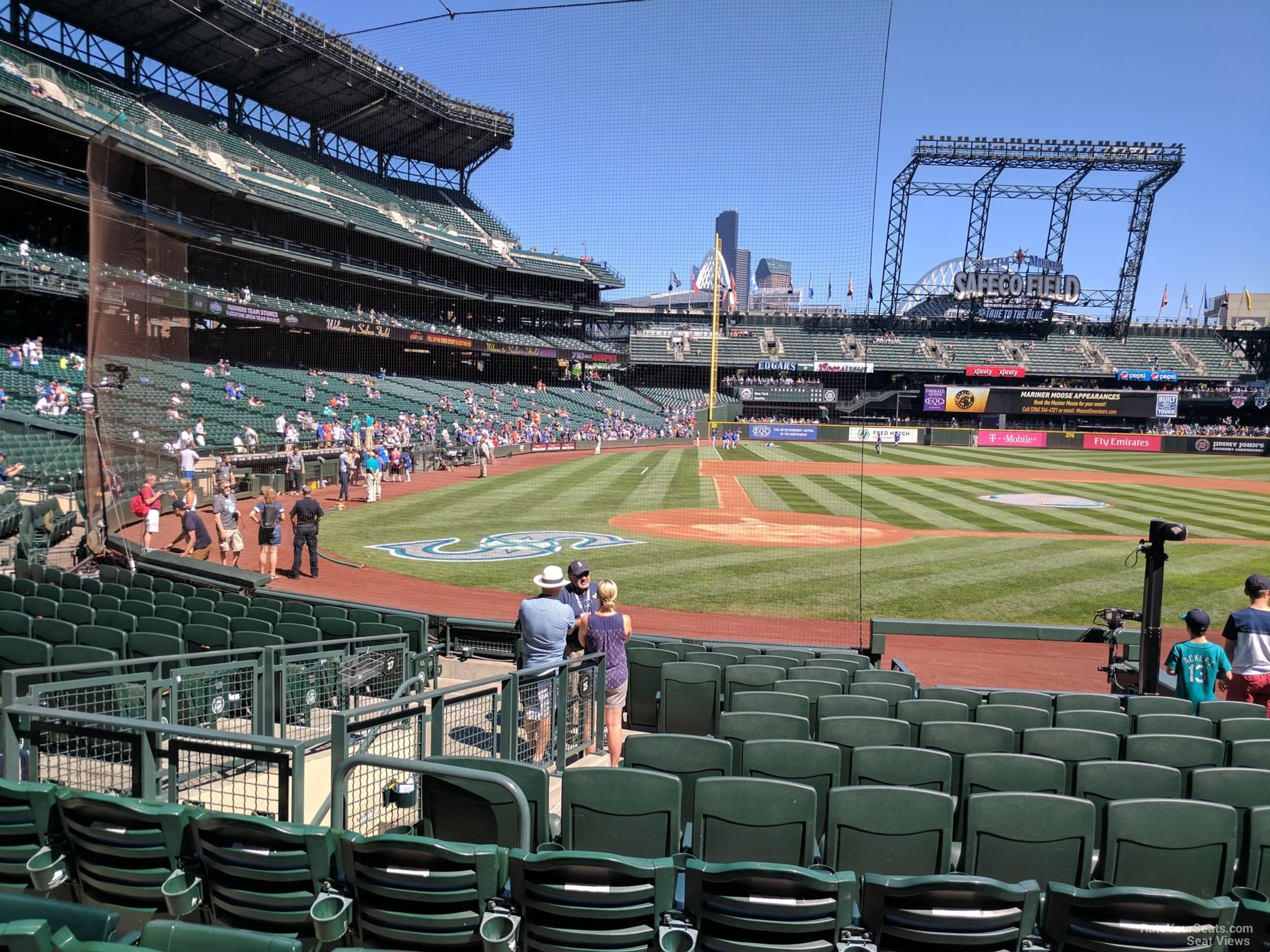 Seat View for Safeco Field Section 125