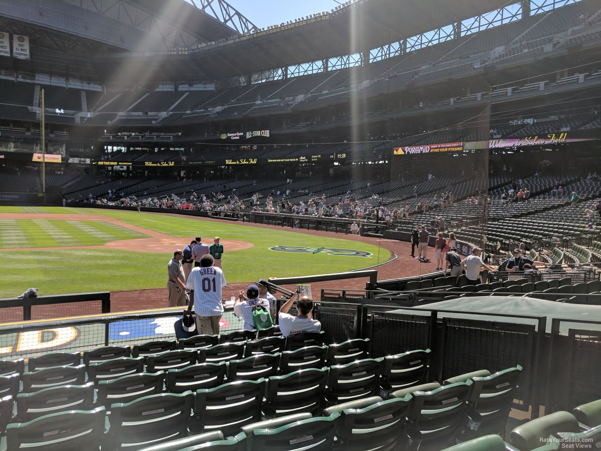 Safeco Field Section Seattle Mariners RateYourSeatscom - Safeco field interactive seating chart