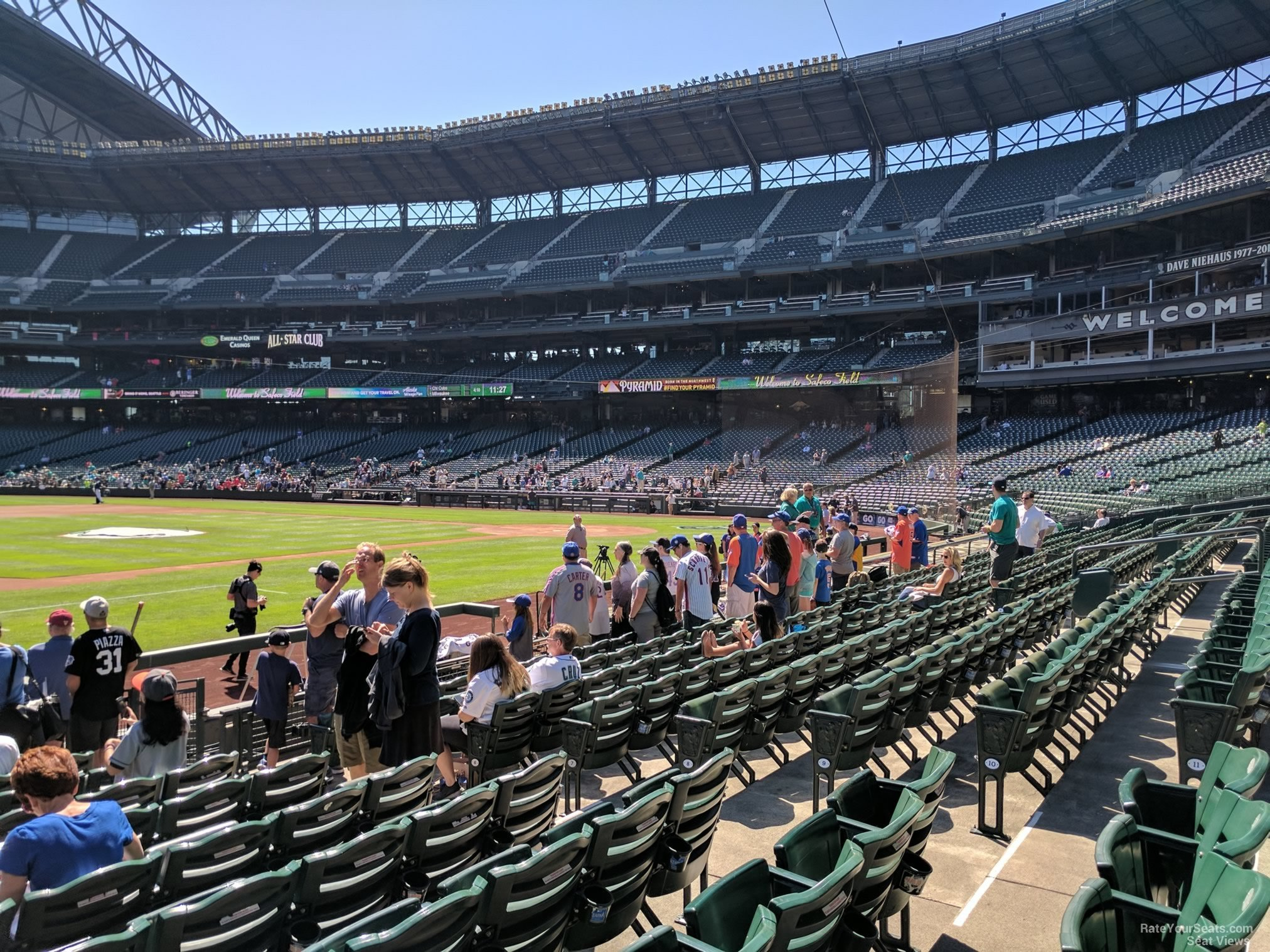 Seat View for Safeco Field Section 140