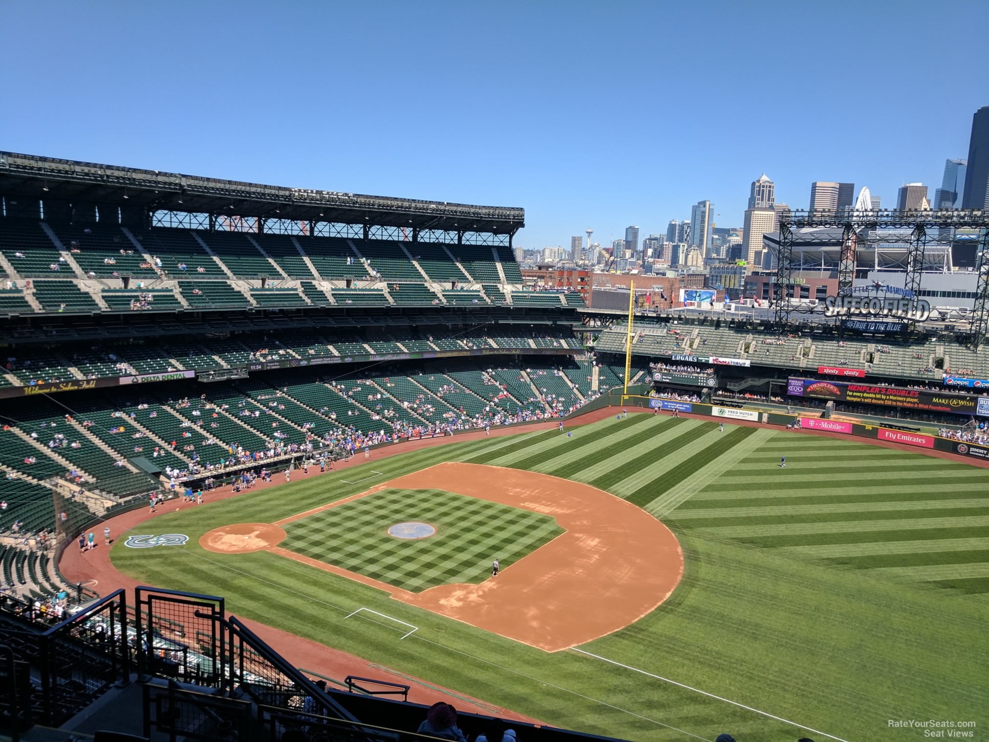 T-Mobile Park Section 318 - Seattle Mariners ...