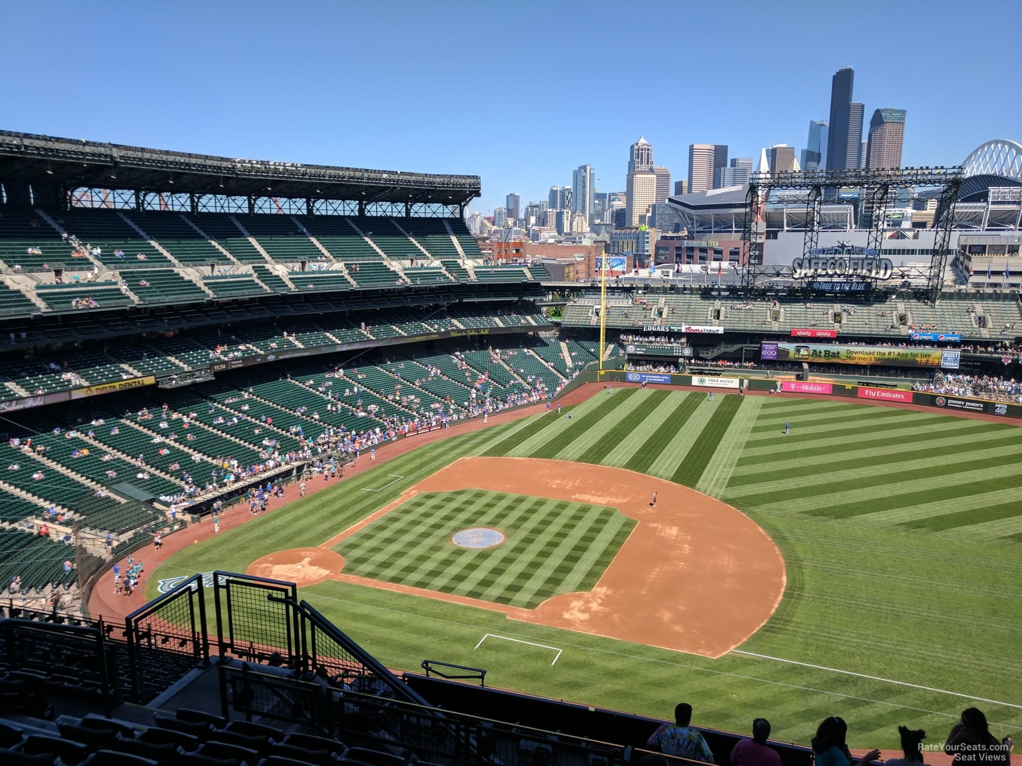 Seat View For Safeco Field Section 320, ...