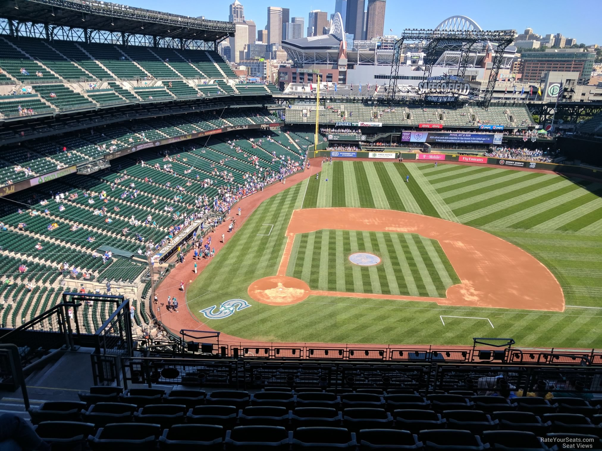 Seat View for Safeco Field Section 325