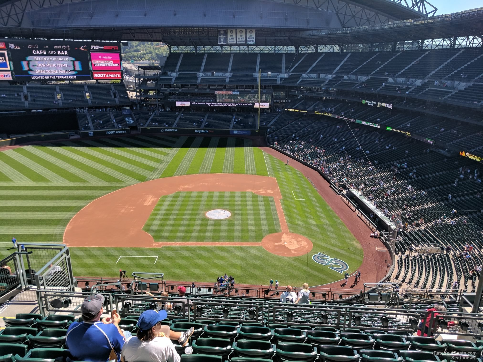 Safeco Field Section 337 Seattle Mariners