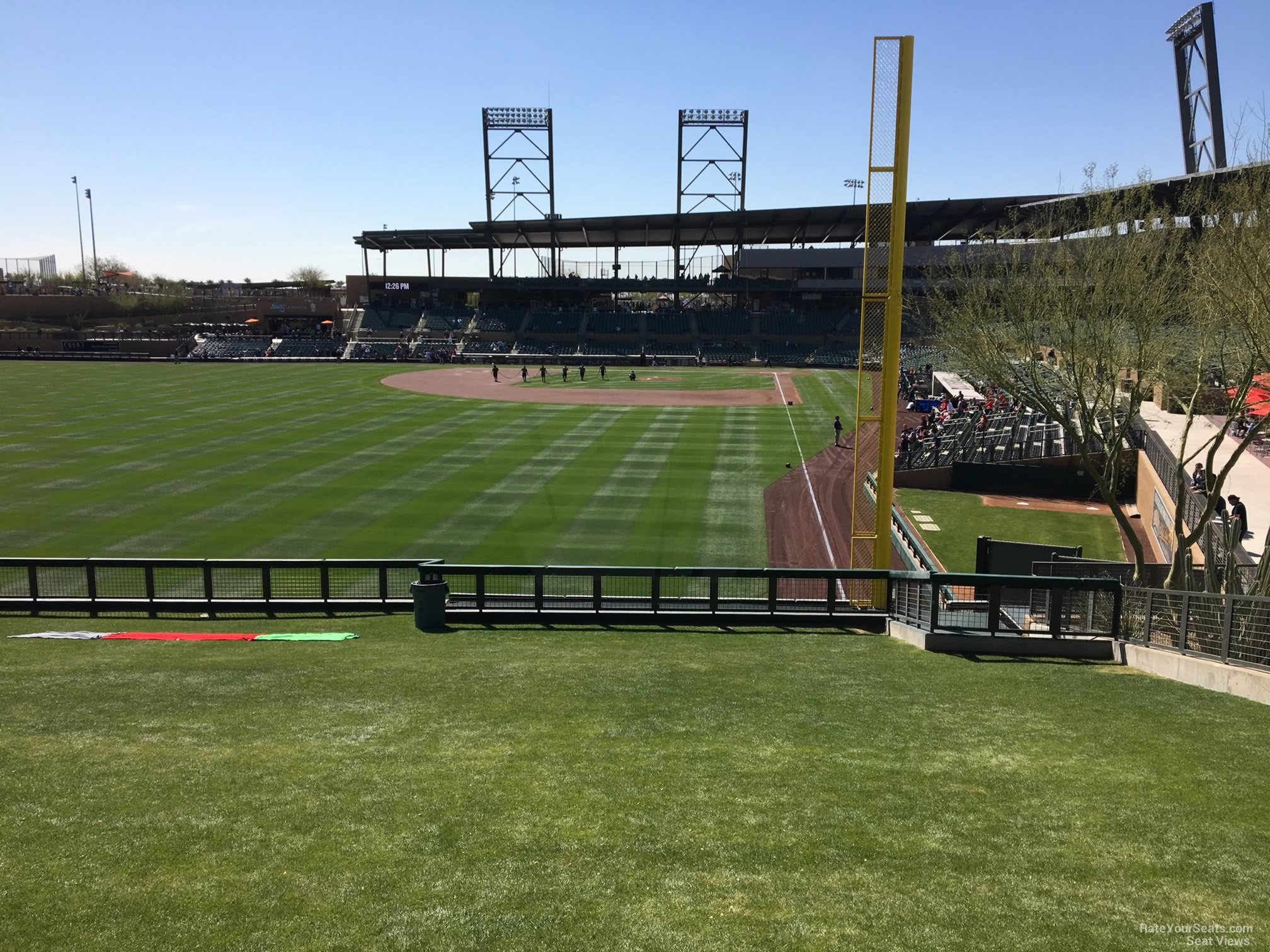 Seat View for Salt River Field at Talking Stick Lawn