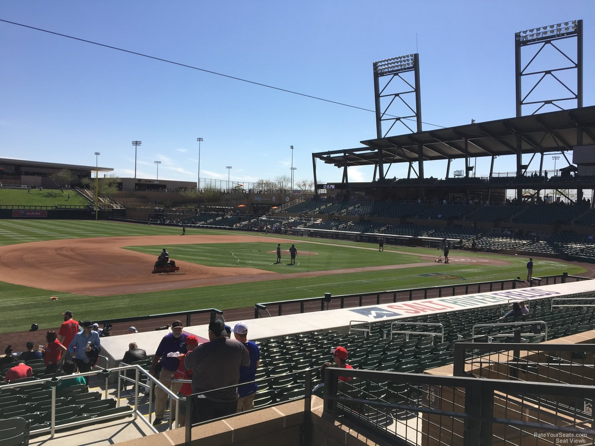 Section 220 seat view