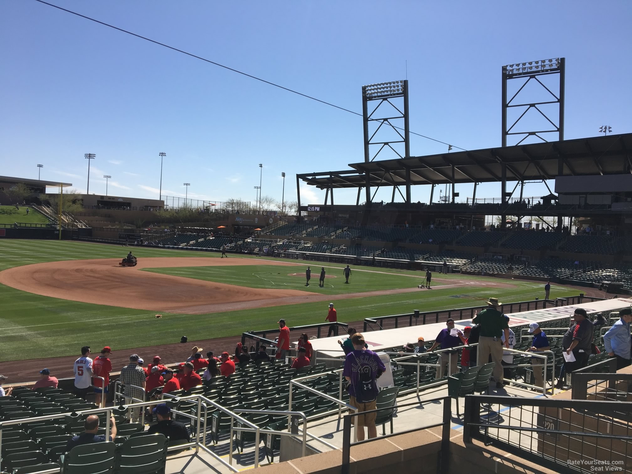 Section 221 seat view