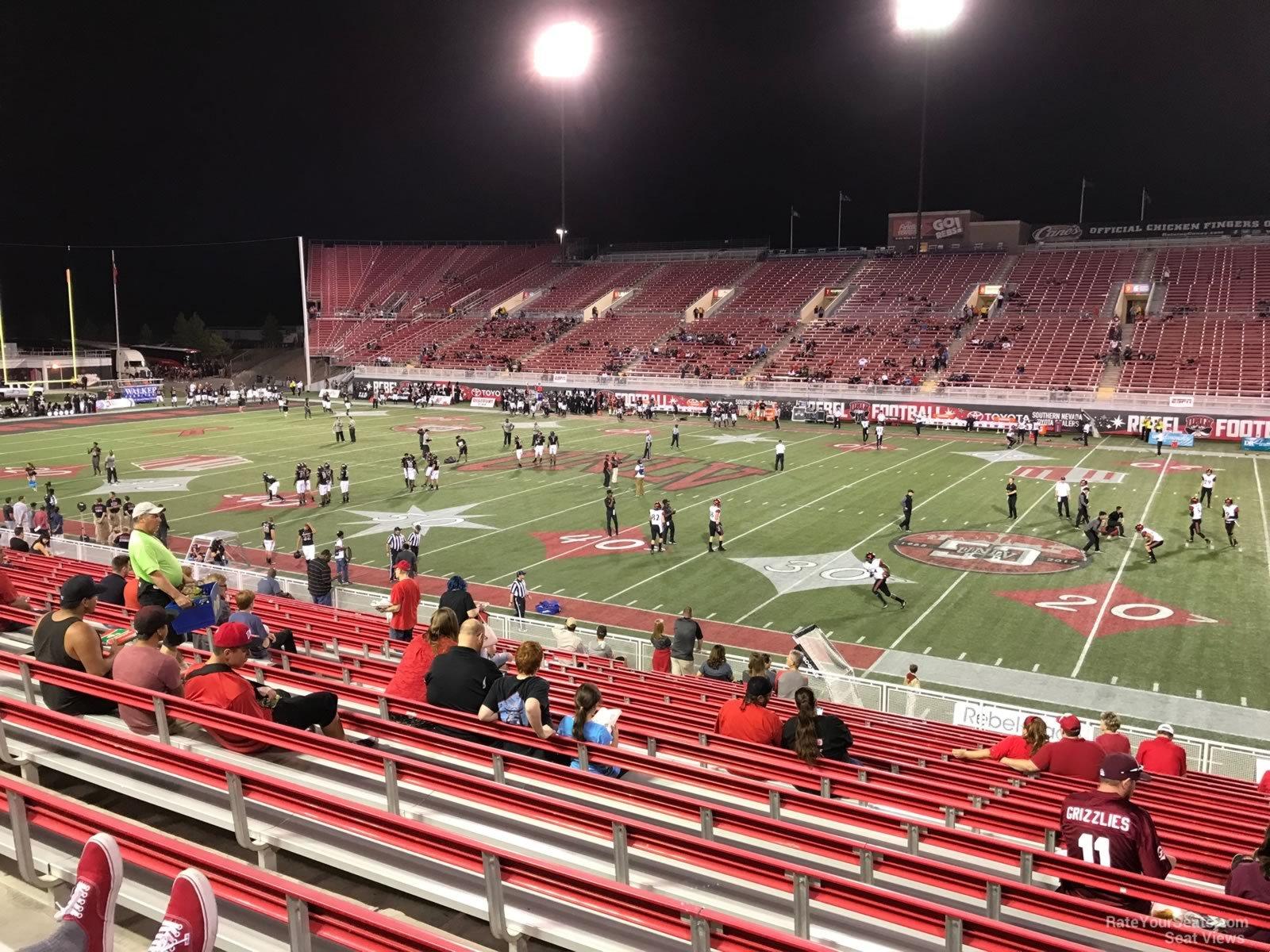 Sam Boyd Stadium Section 126