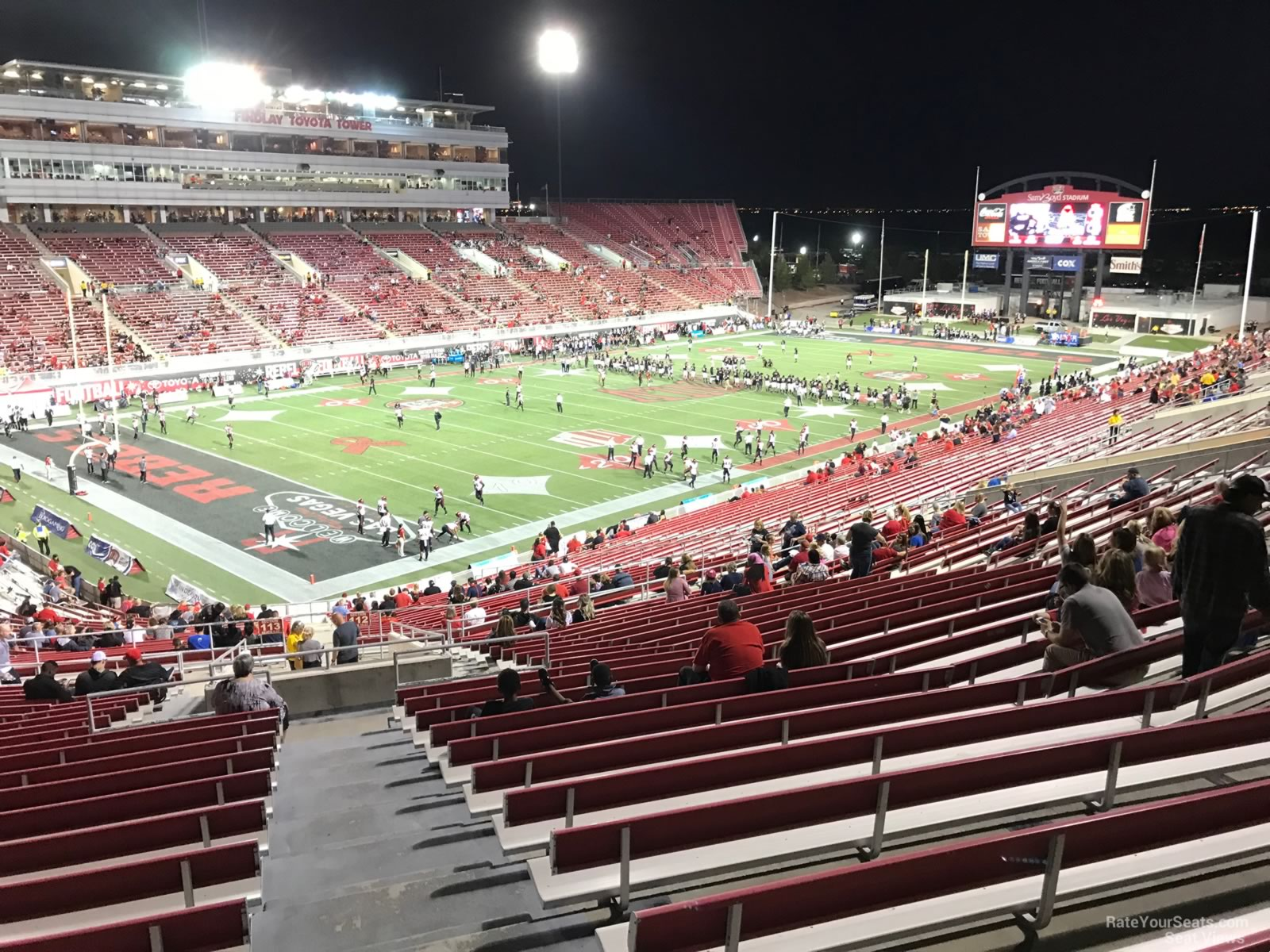 Seat View for Sam Boyd Stadium Section 313, Row 47