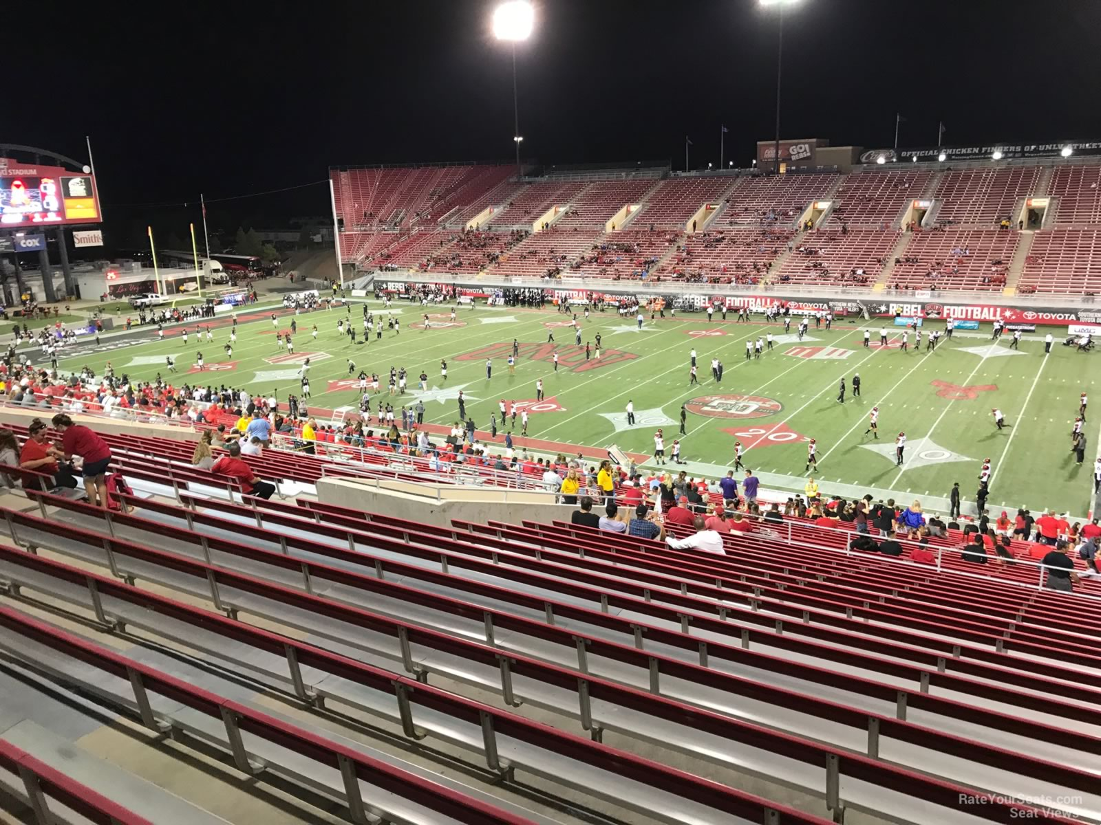 Seat View for Sam Boyd Stadium Section 323, Row 47