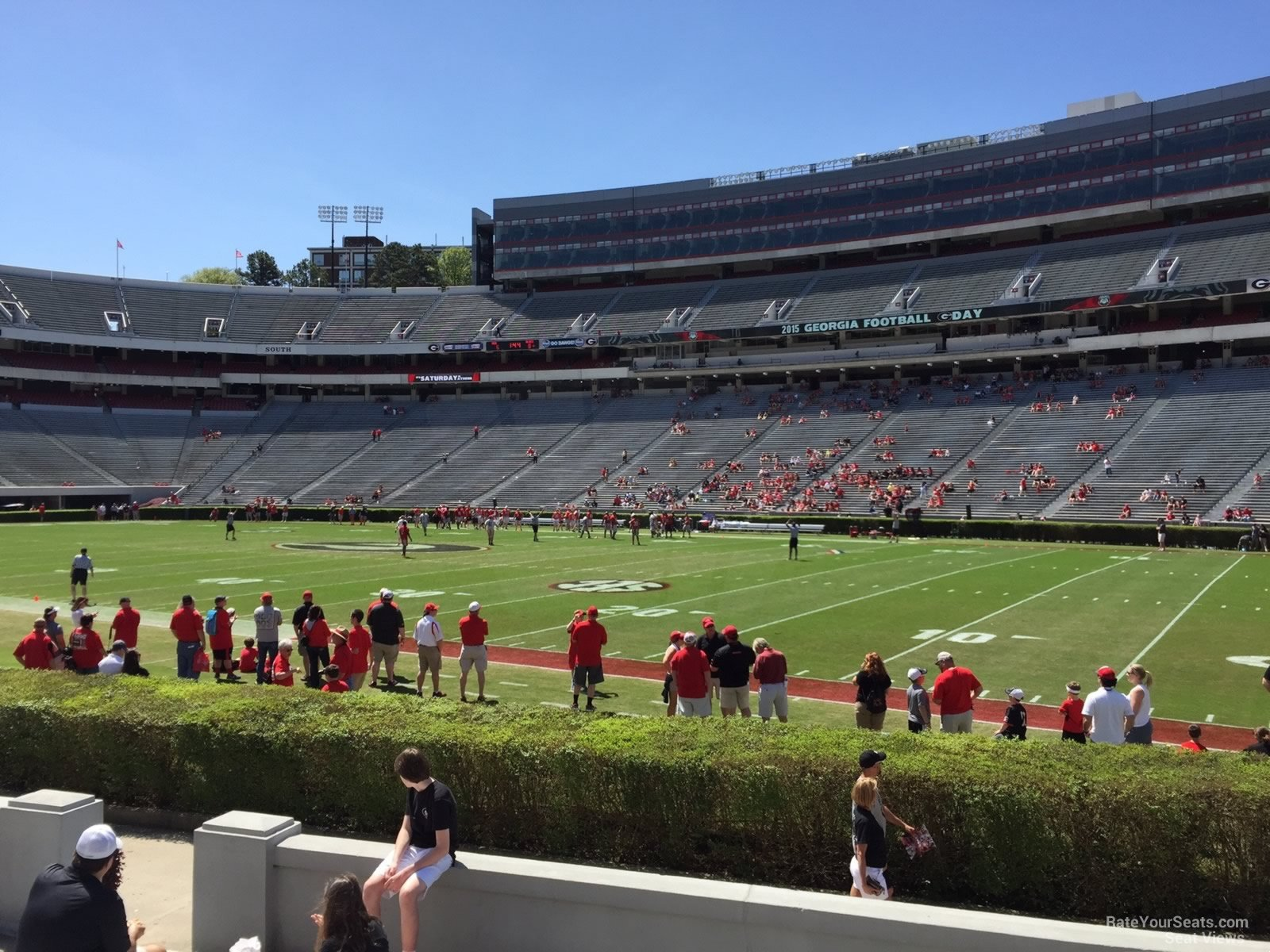 Sanford Stadium Section 103 Rateyourseats Com