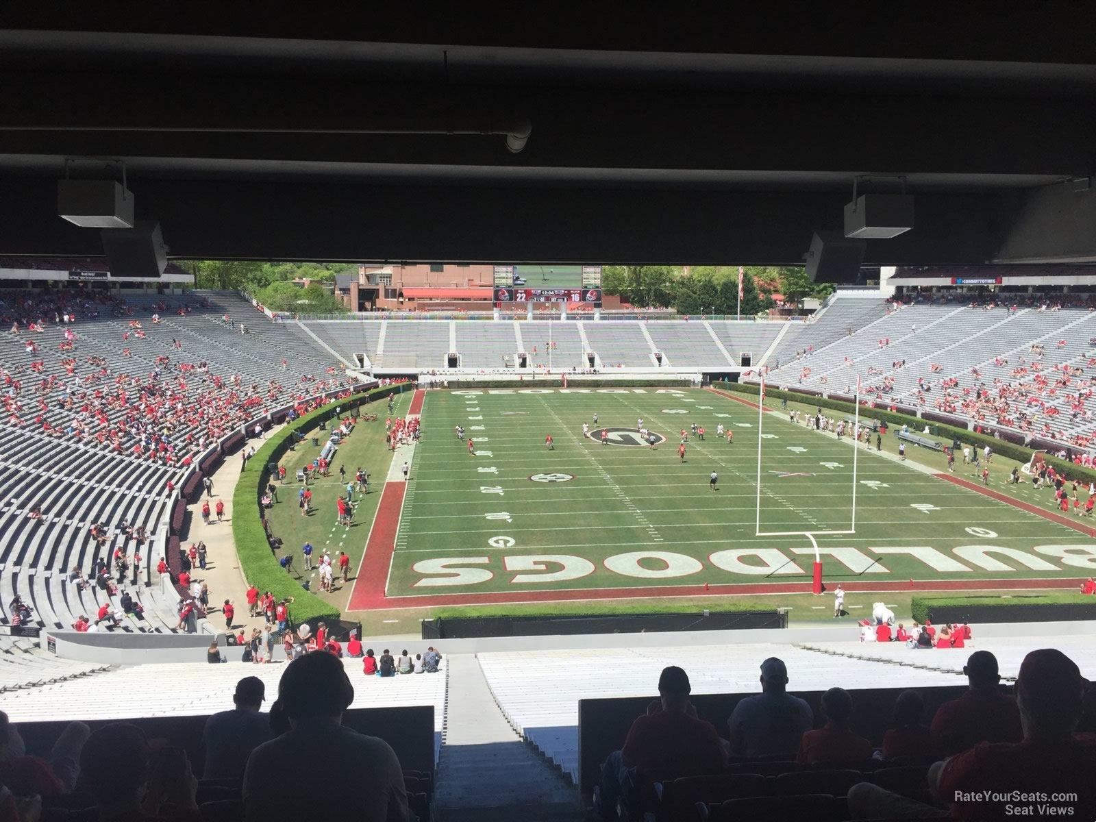 Sanford Stadium Section 121 Rateyourseats Com
