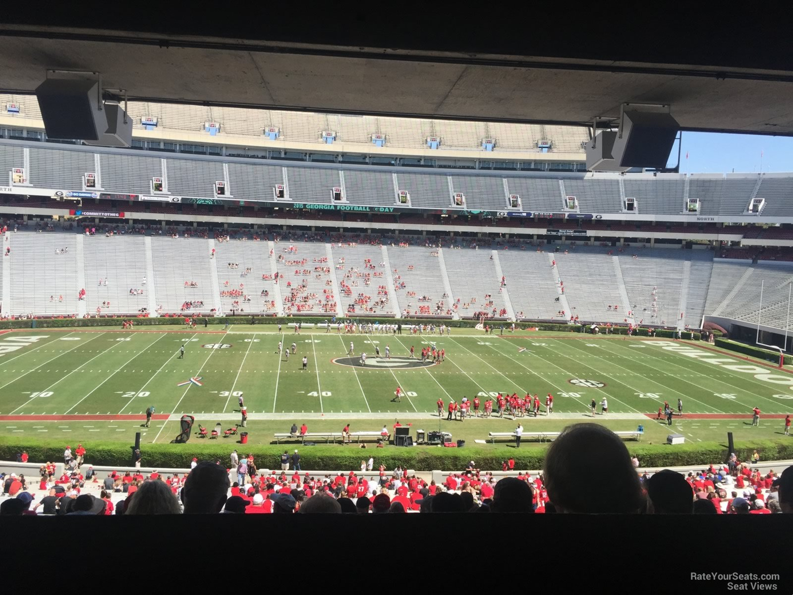 Sanford Stadium Section 132 Rateyourseats Com