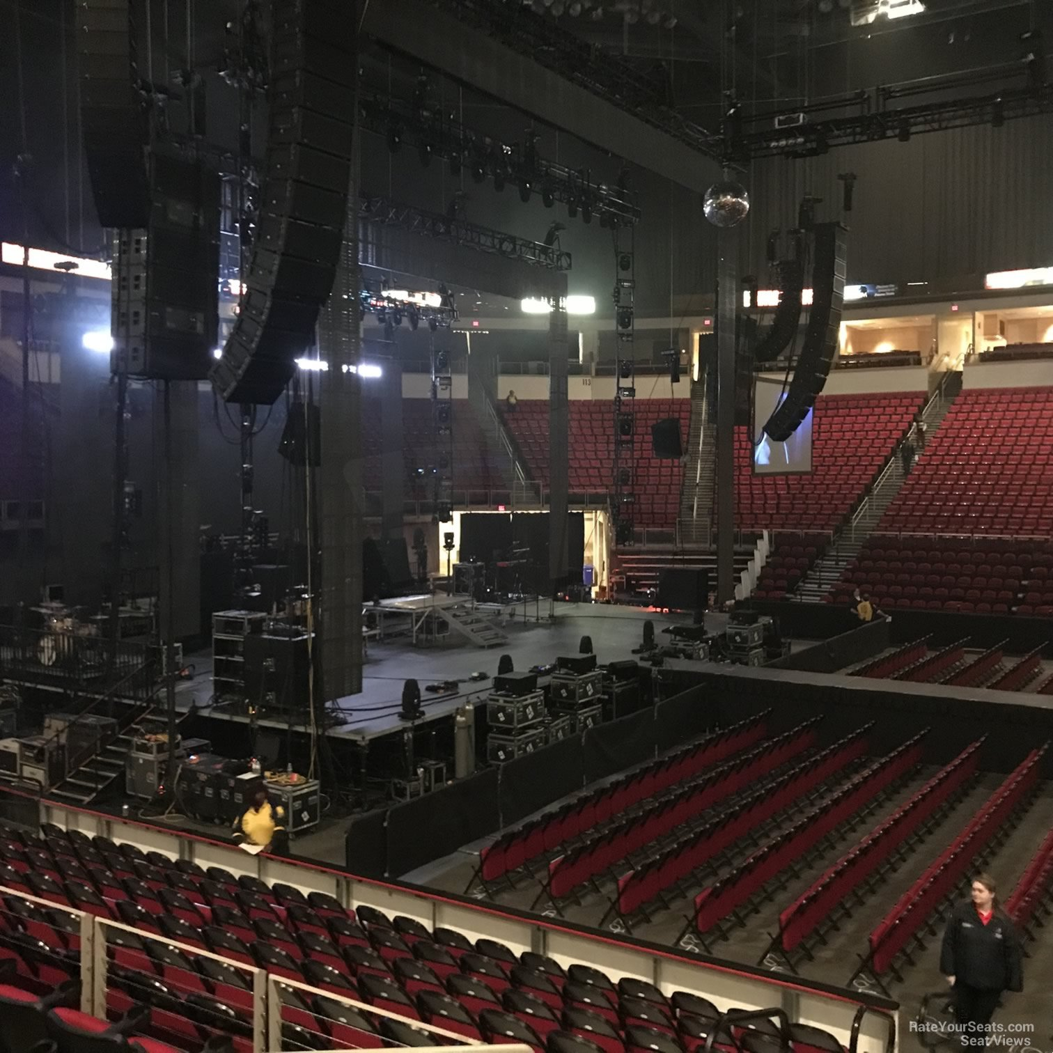 Concert Seat View for Save Mart Center Section 122