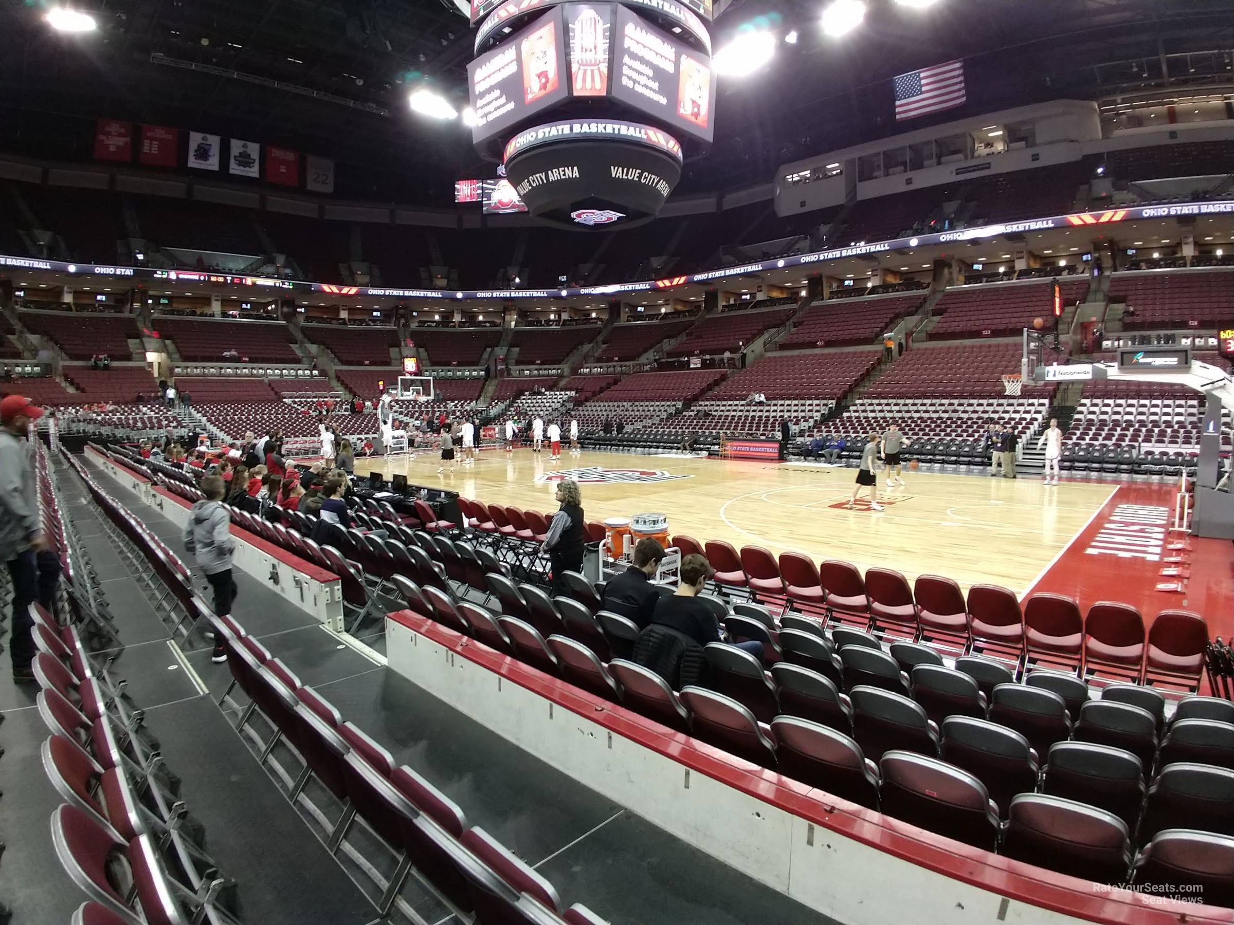 Seat View for Schottenstein Center  Section 104, Row D