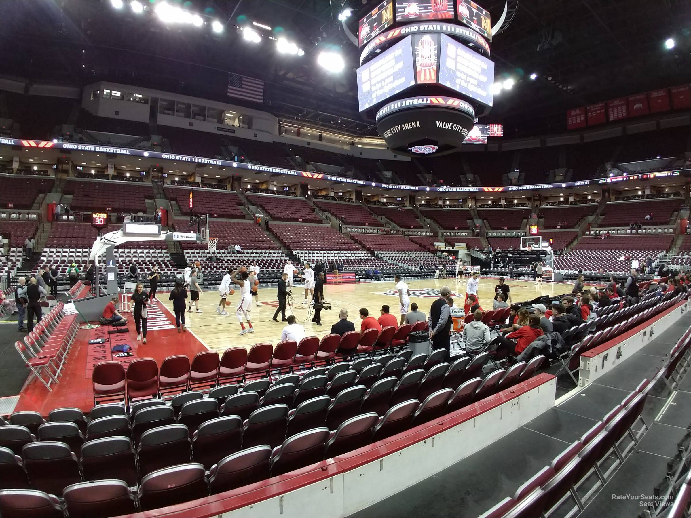Seat View for Schottenstein Center  Section 107, Row D