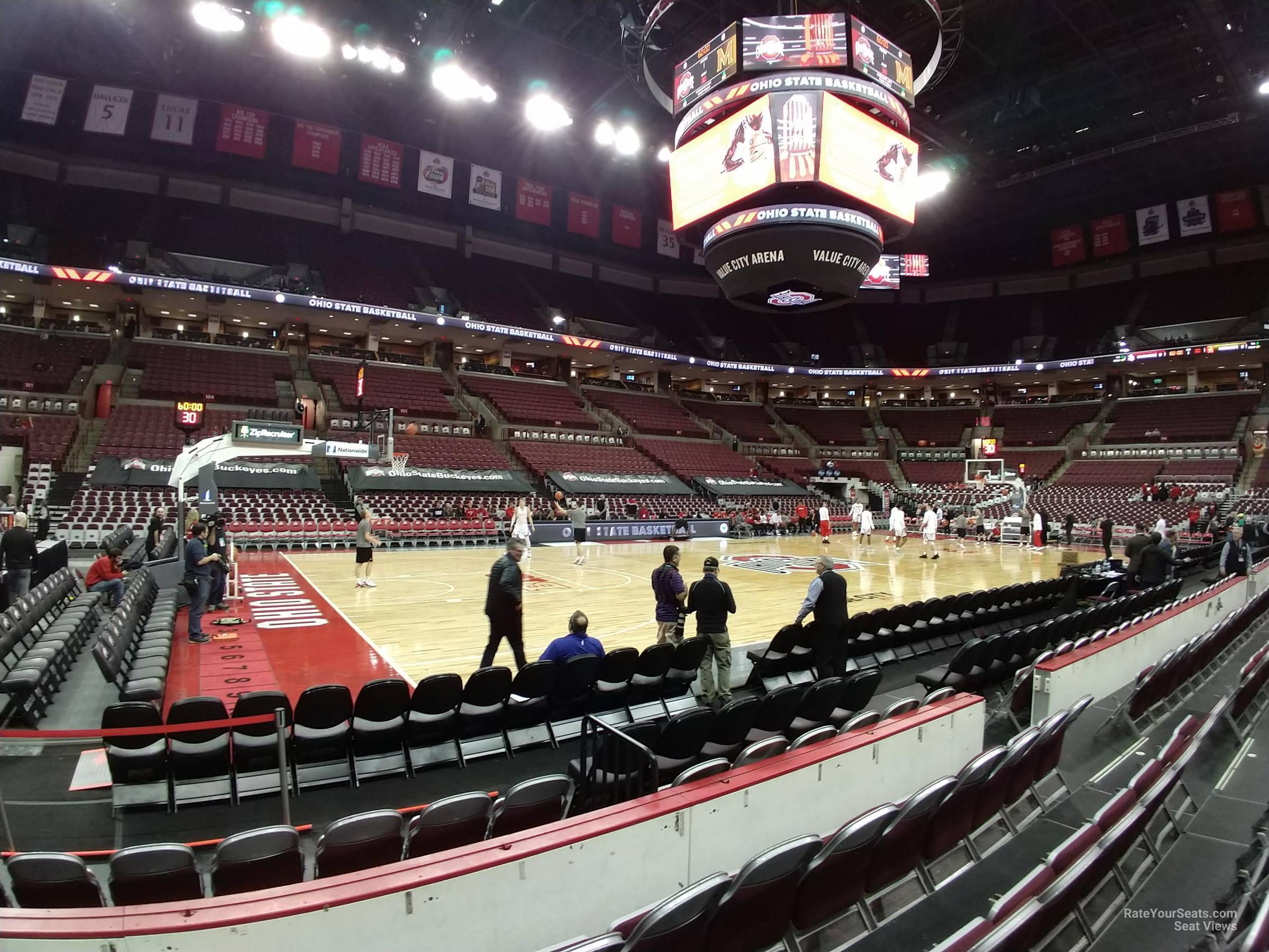 Seat View for Schottenstein Center  Section 124, Row D