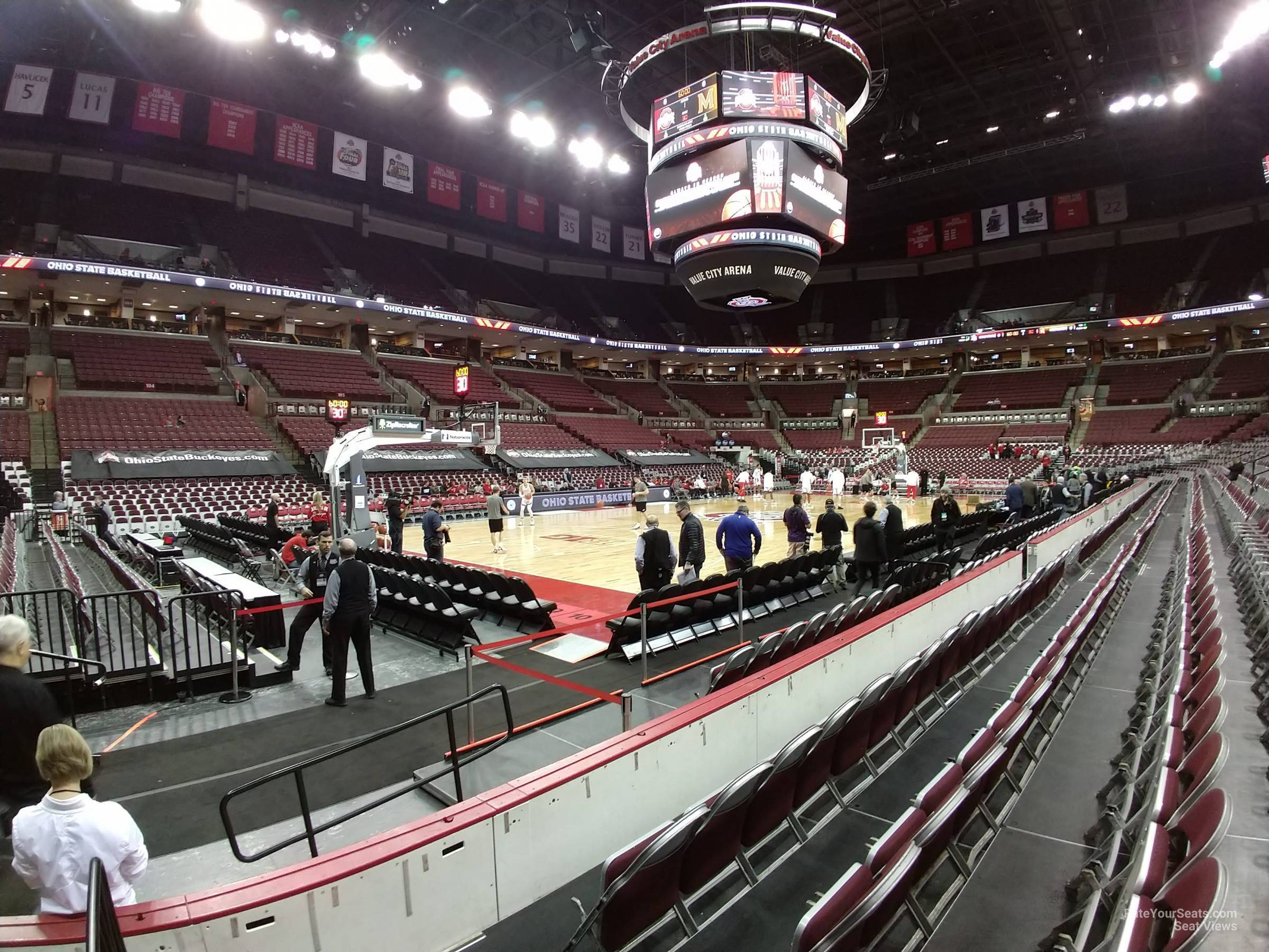 Seat View for Schottenstein Center  Section 127, Row D