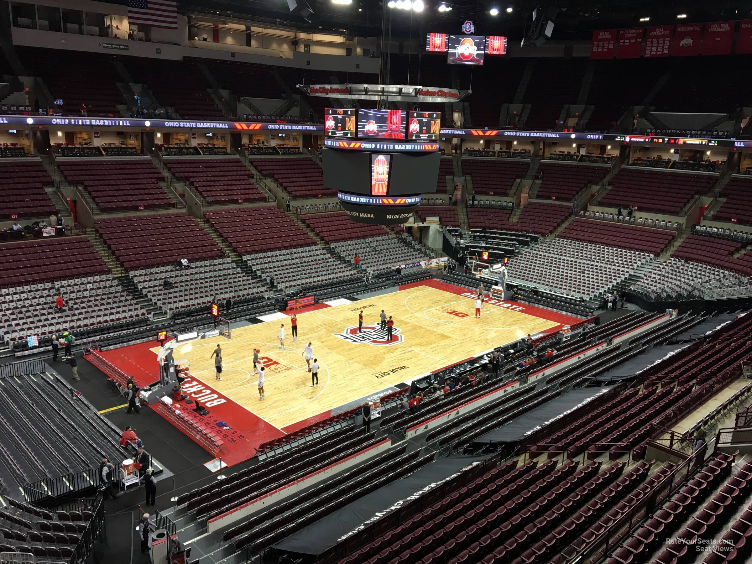 Seat View for Schottenstein Center  Section 309, Row A