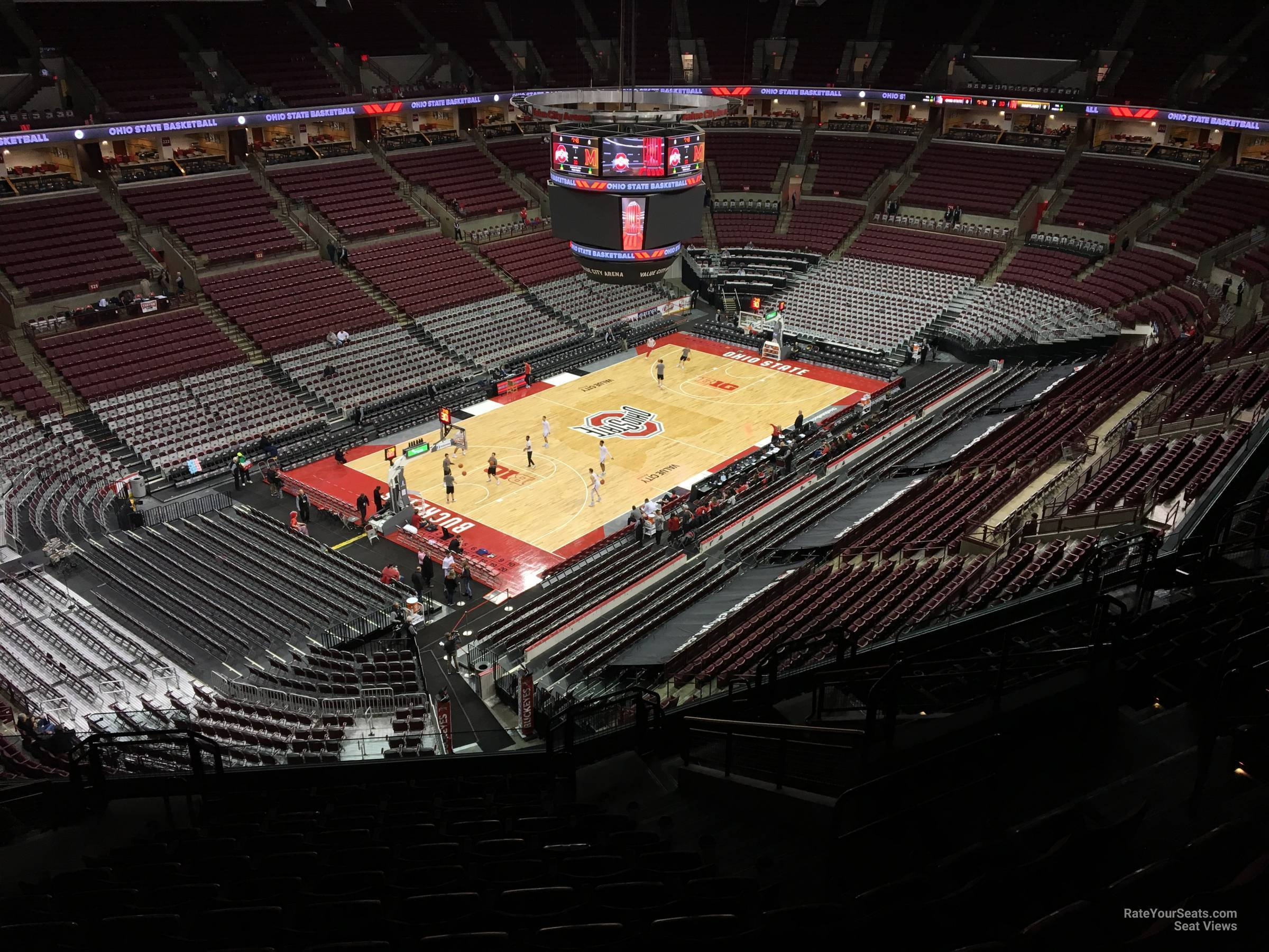 Seat View for Schottenstein Center  Section 310, Row M