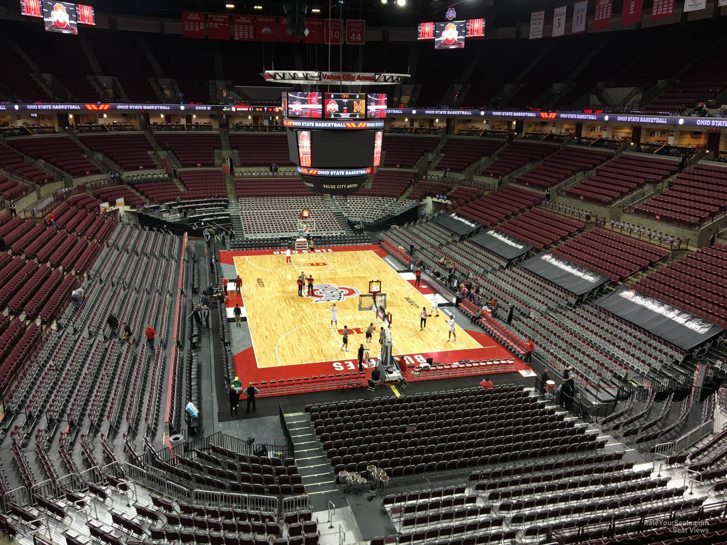 Seat View for Schottenstein Center  Section 315, Row A
