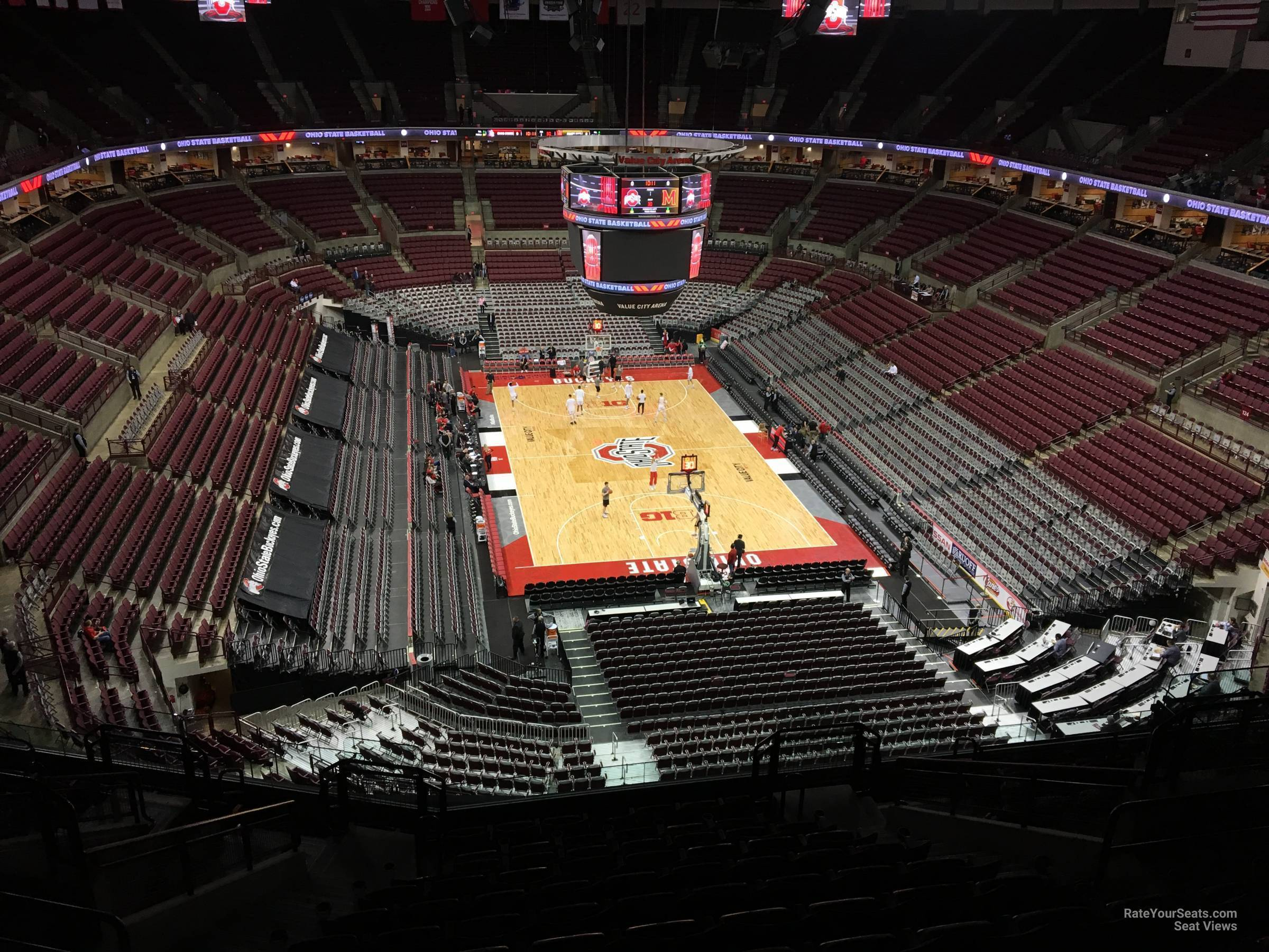 Seat View for Schottenstein Center  Section 332, Row M
