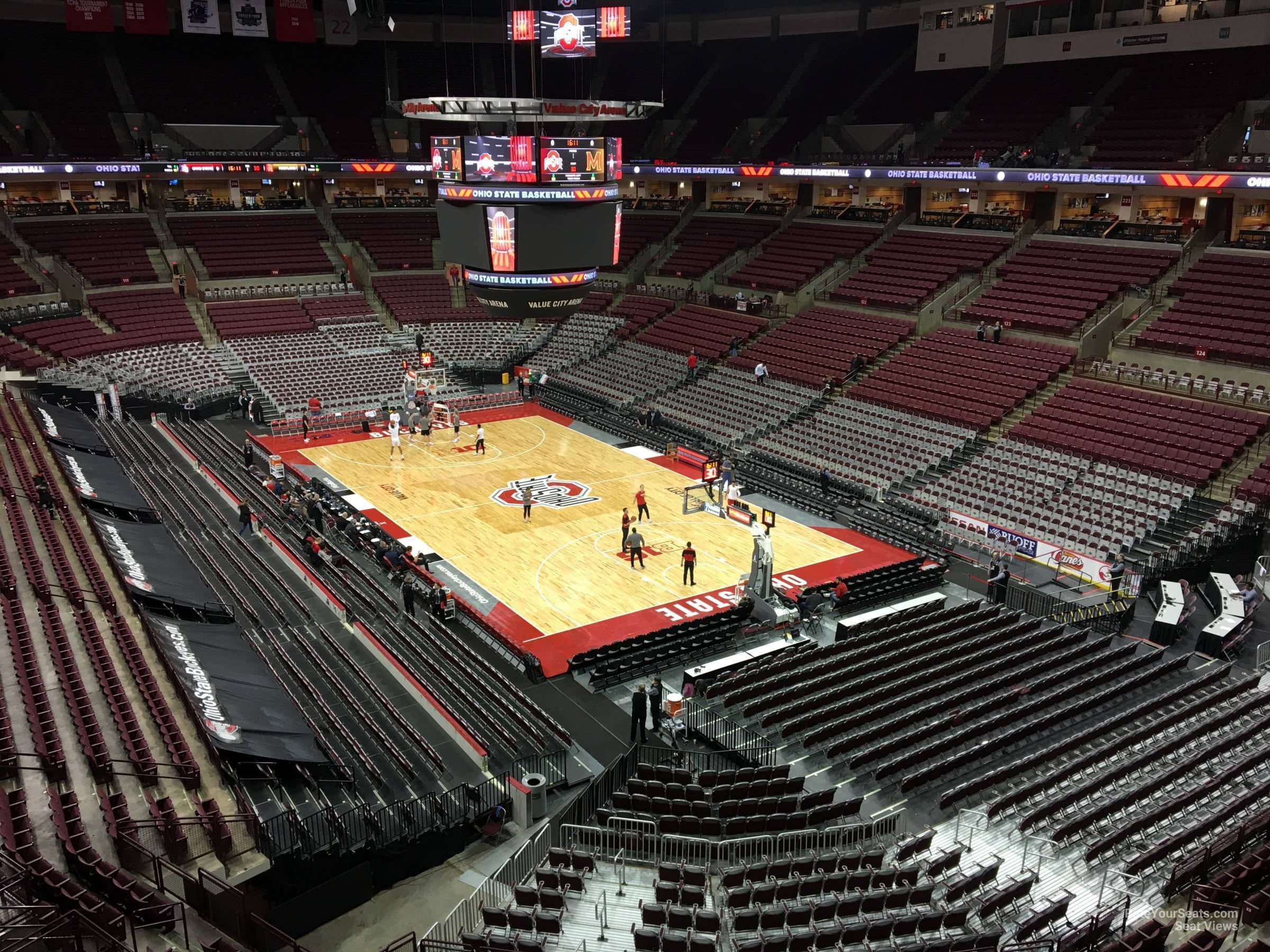 Seat View for Schottenstein Center  Section 334, Row A