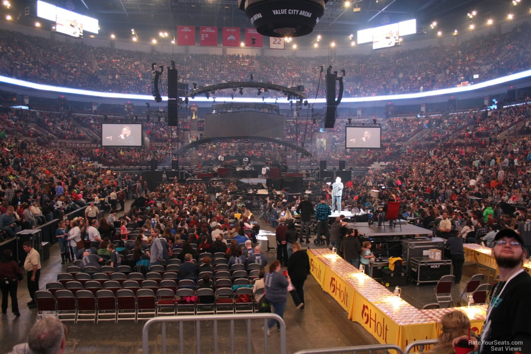 Section 131 Offers A Comfortable Head On View For End Stage Shows