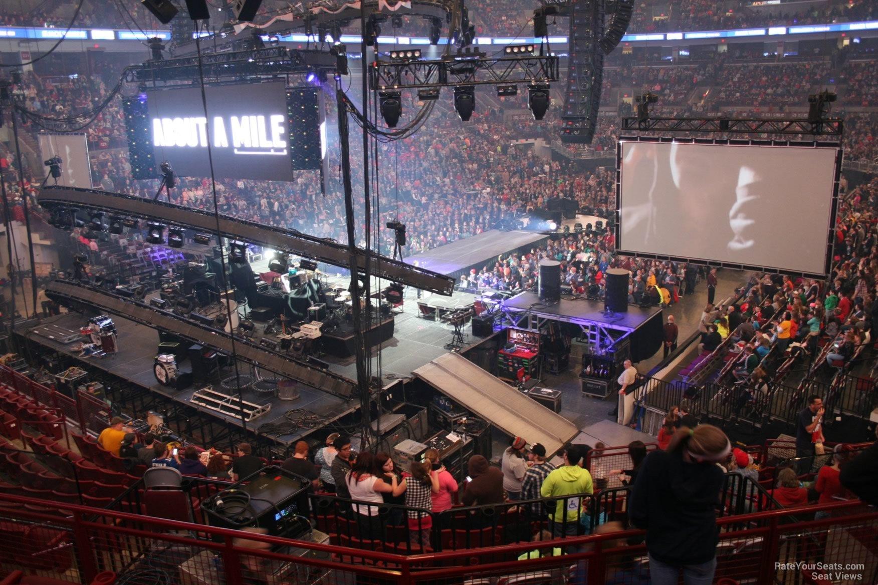 Schottenstein Center Section 210 Concert Seating