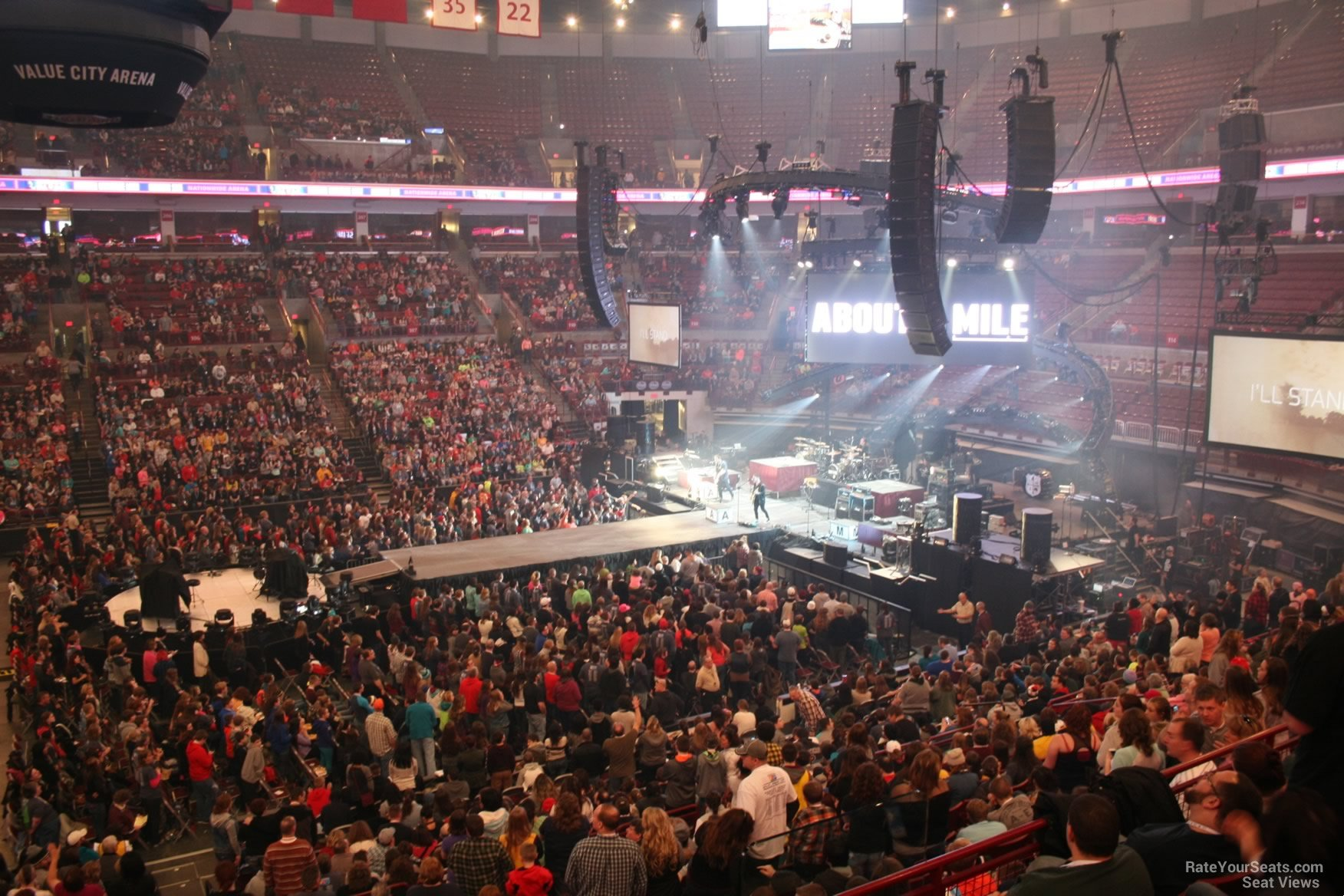 Schottenstein Center Section 223 Concert Seating