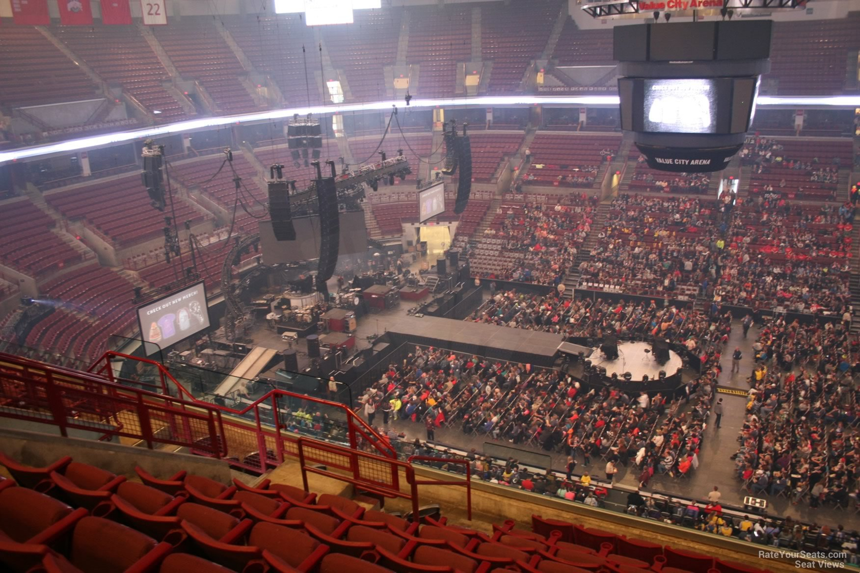 Schottenstein Center Section 305 Concert Seating
