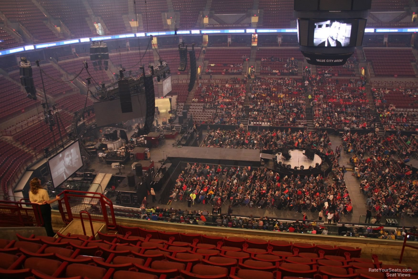 Schottenstein Center Section 306 Concert Seating ...