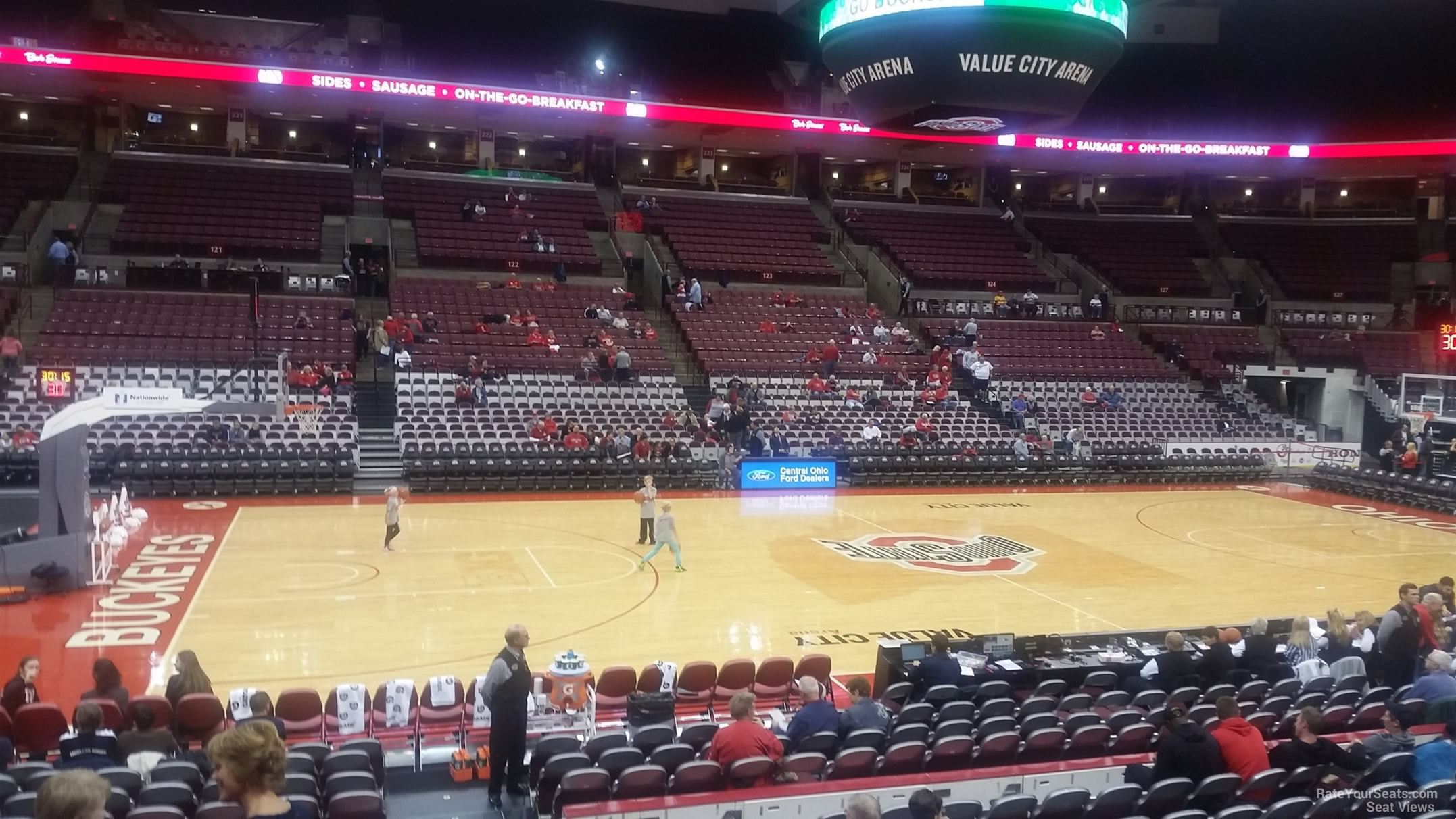 Schottenstein Center Section 107 Ohio State Basketball