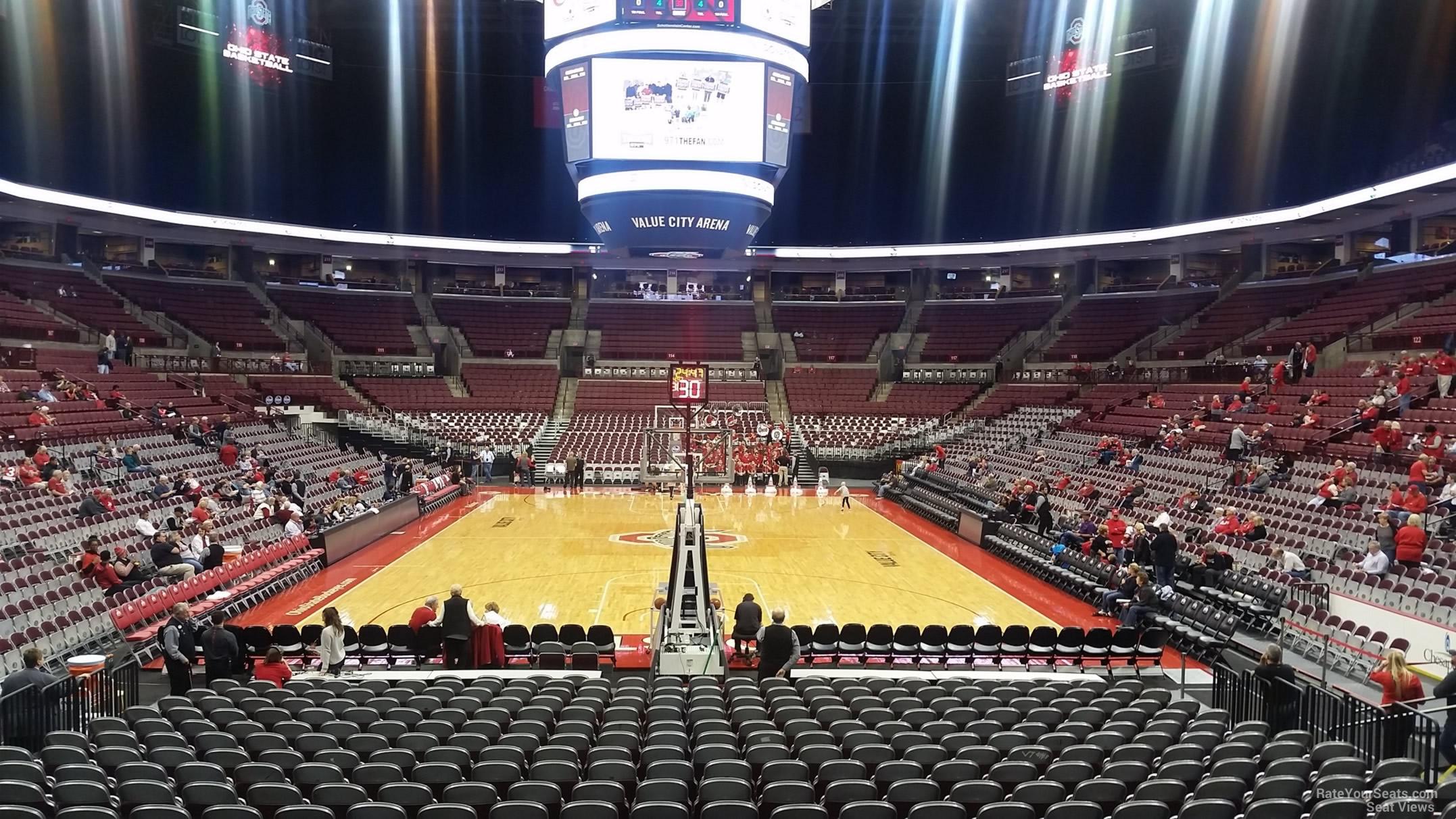 Schottenstein center section 131 ohio state basketball