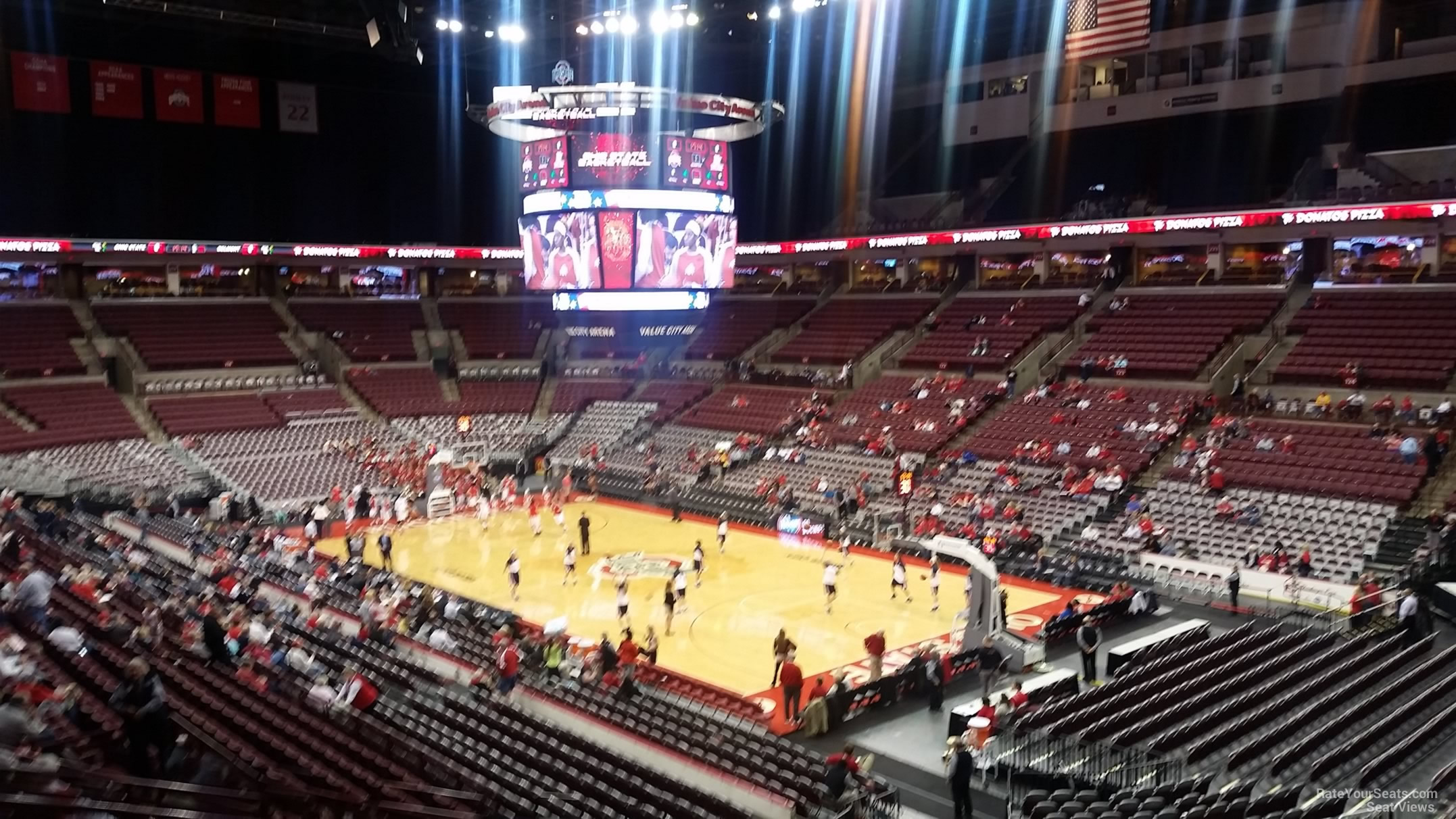 Seat View for Schottenstein Center  Section 201, Row H