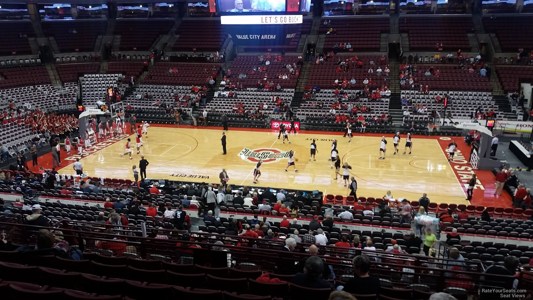 Seat View for Schottenstein Center  Section 205, Row H