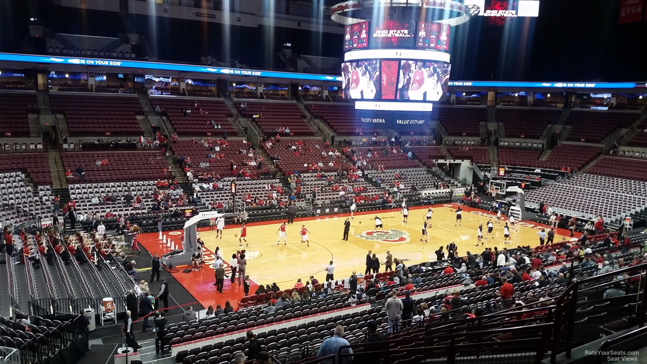 Seat View for Schottenstein Center  Section 208, Row P