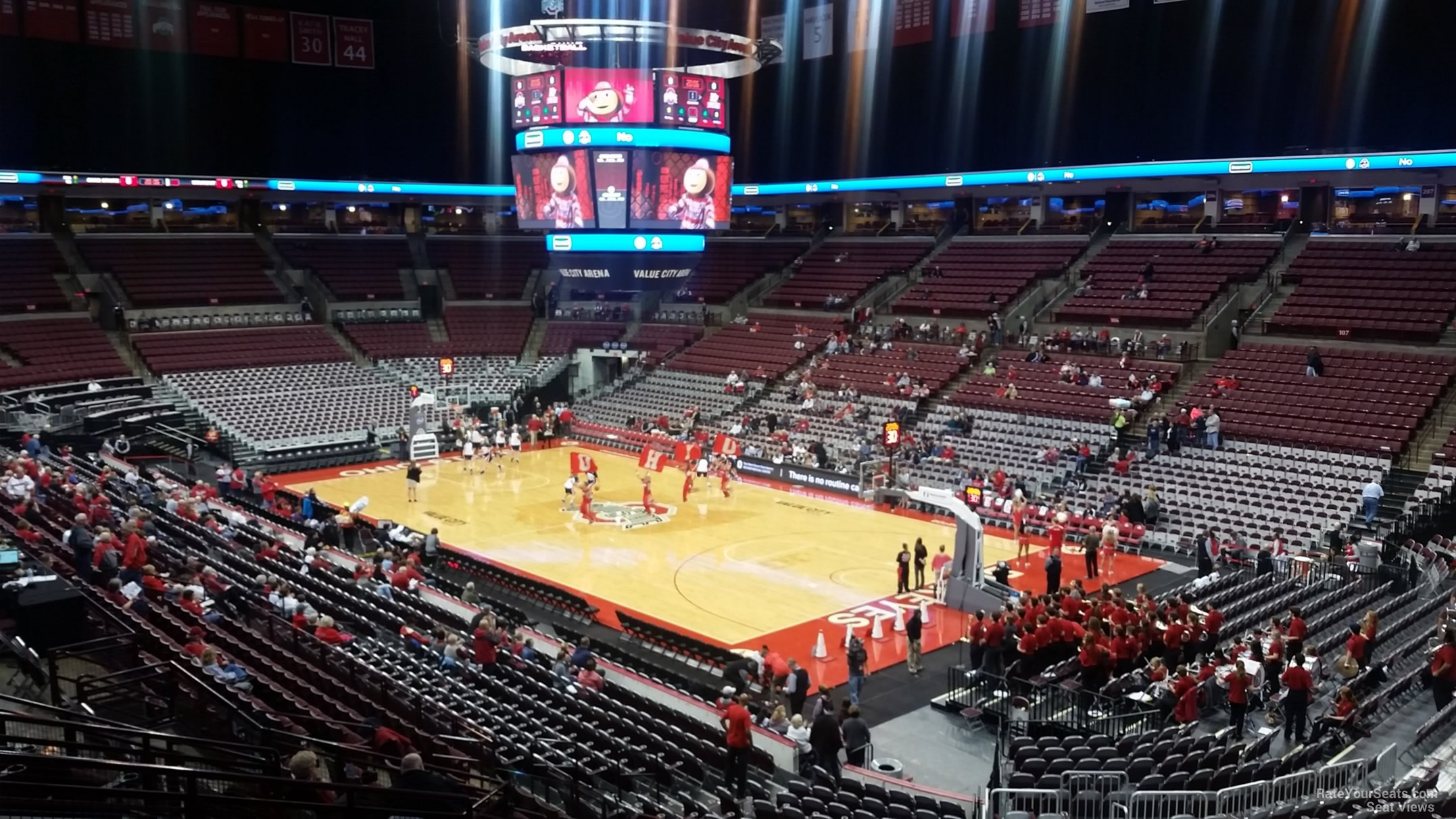 Seat View for Schottenstein Center  Section 218, Row H