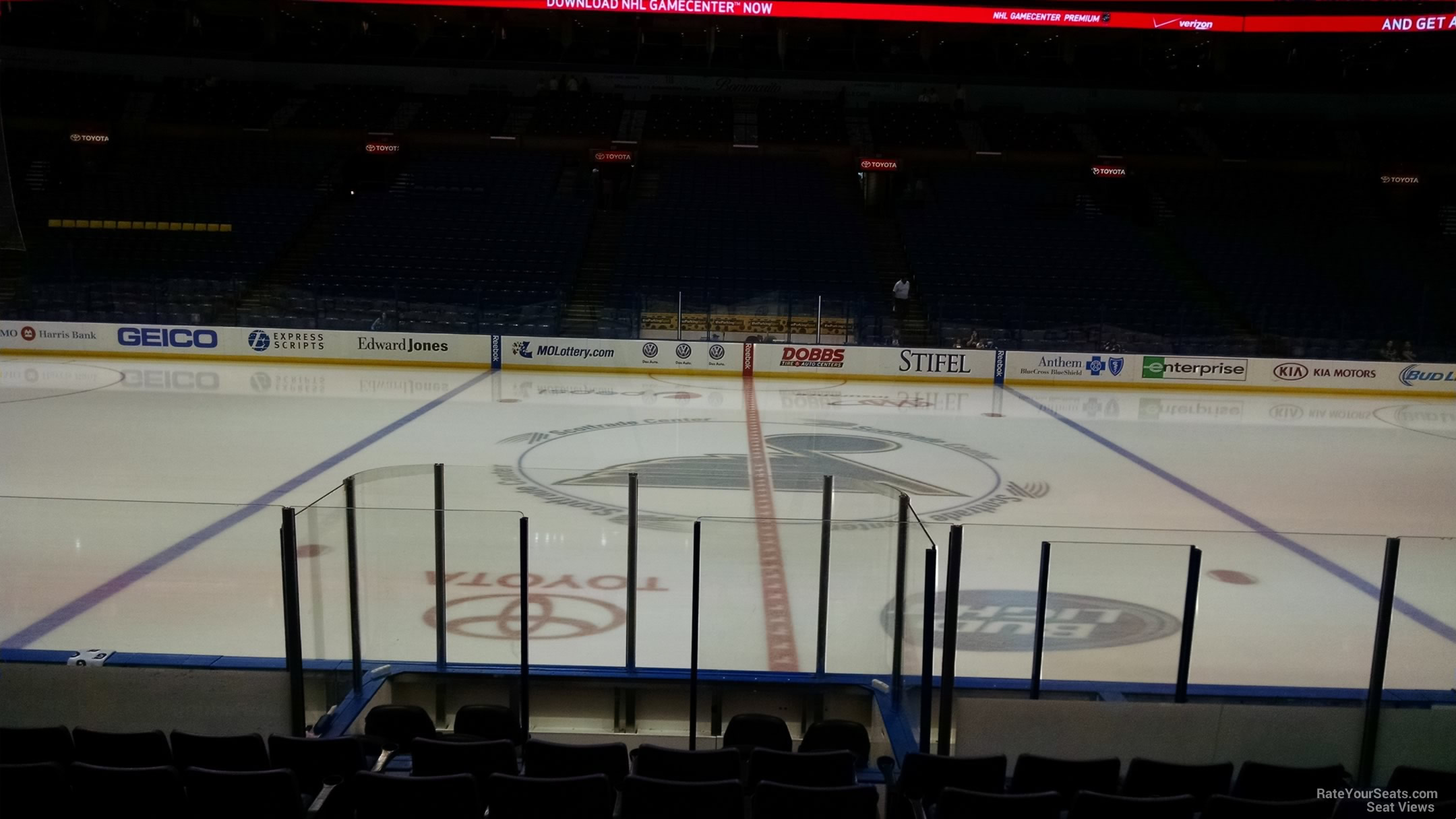 Enterprise Center Section 103 St Louis Blues