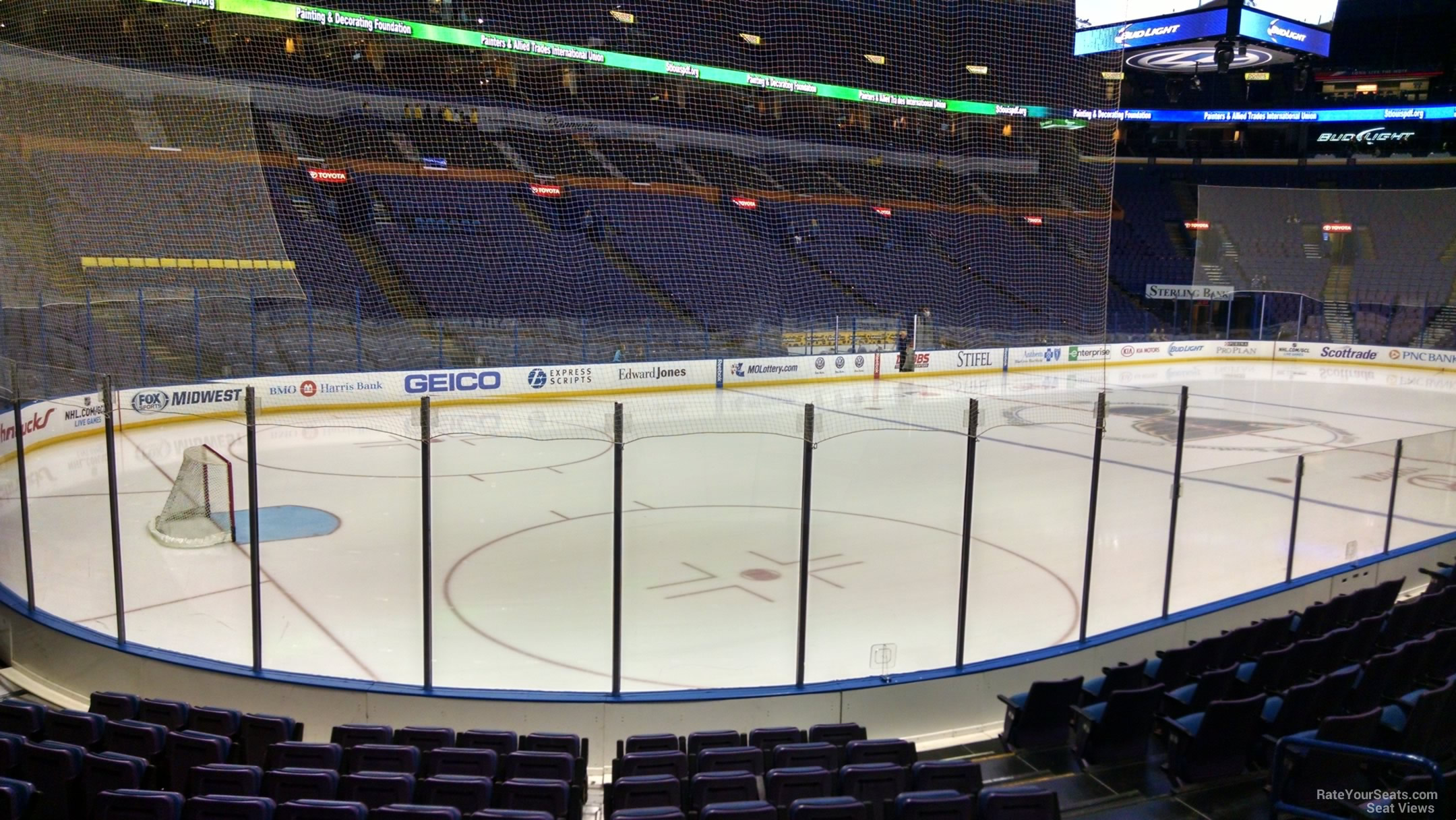St Louis Blues Seat View for Scottrade Center Section 106