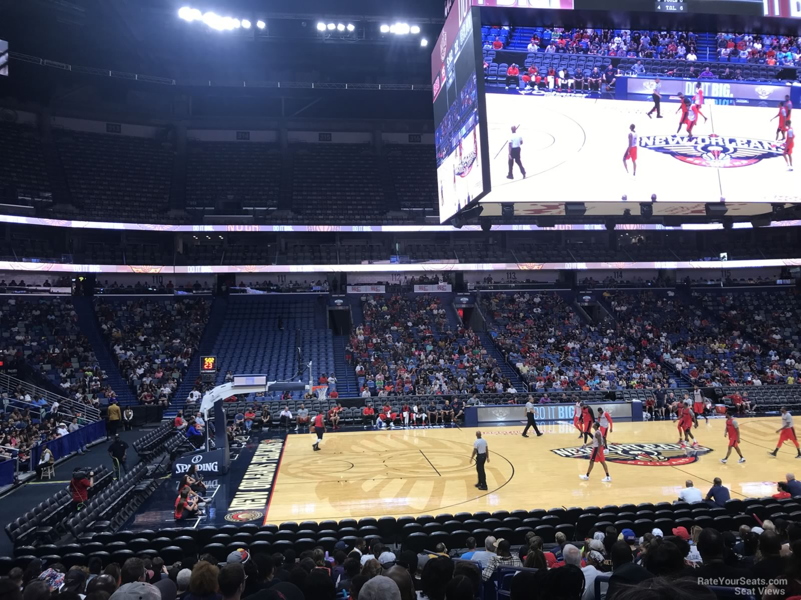 Smoothie King Center Section 102 New Orleans Pelicans