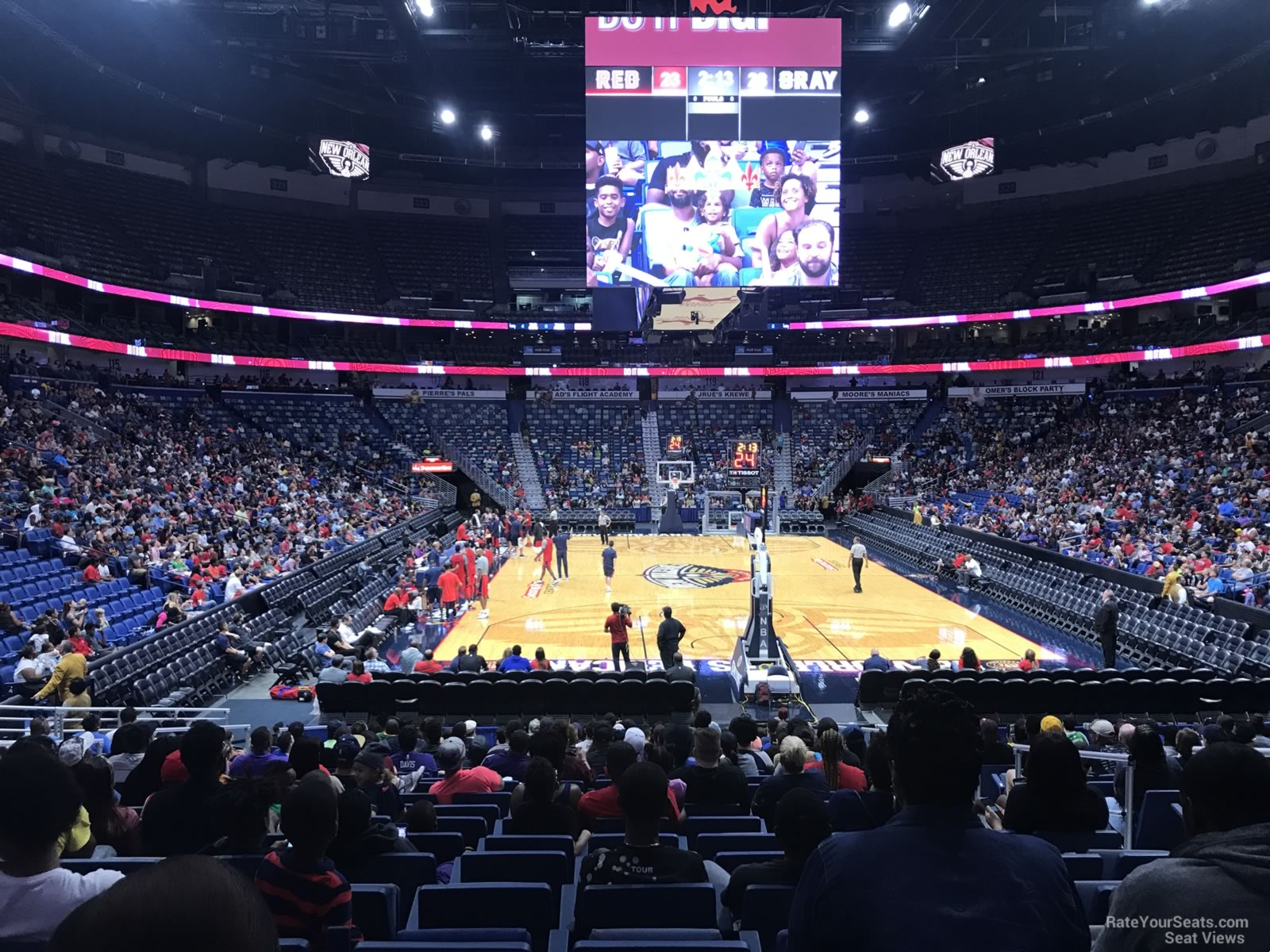 Smoothie King Center Section 107 New Orleans Pelicans