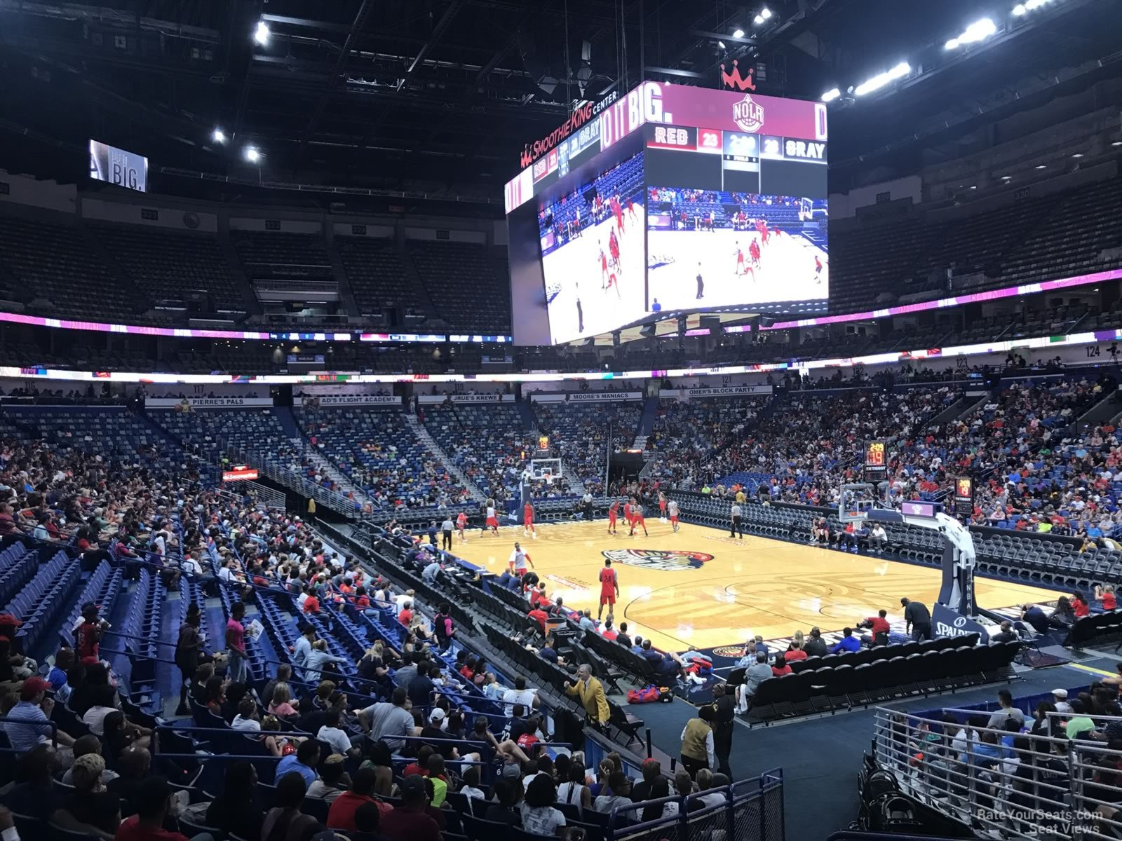 Smoothie King Center Section 109 New Orleans Pelicans