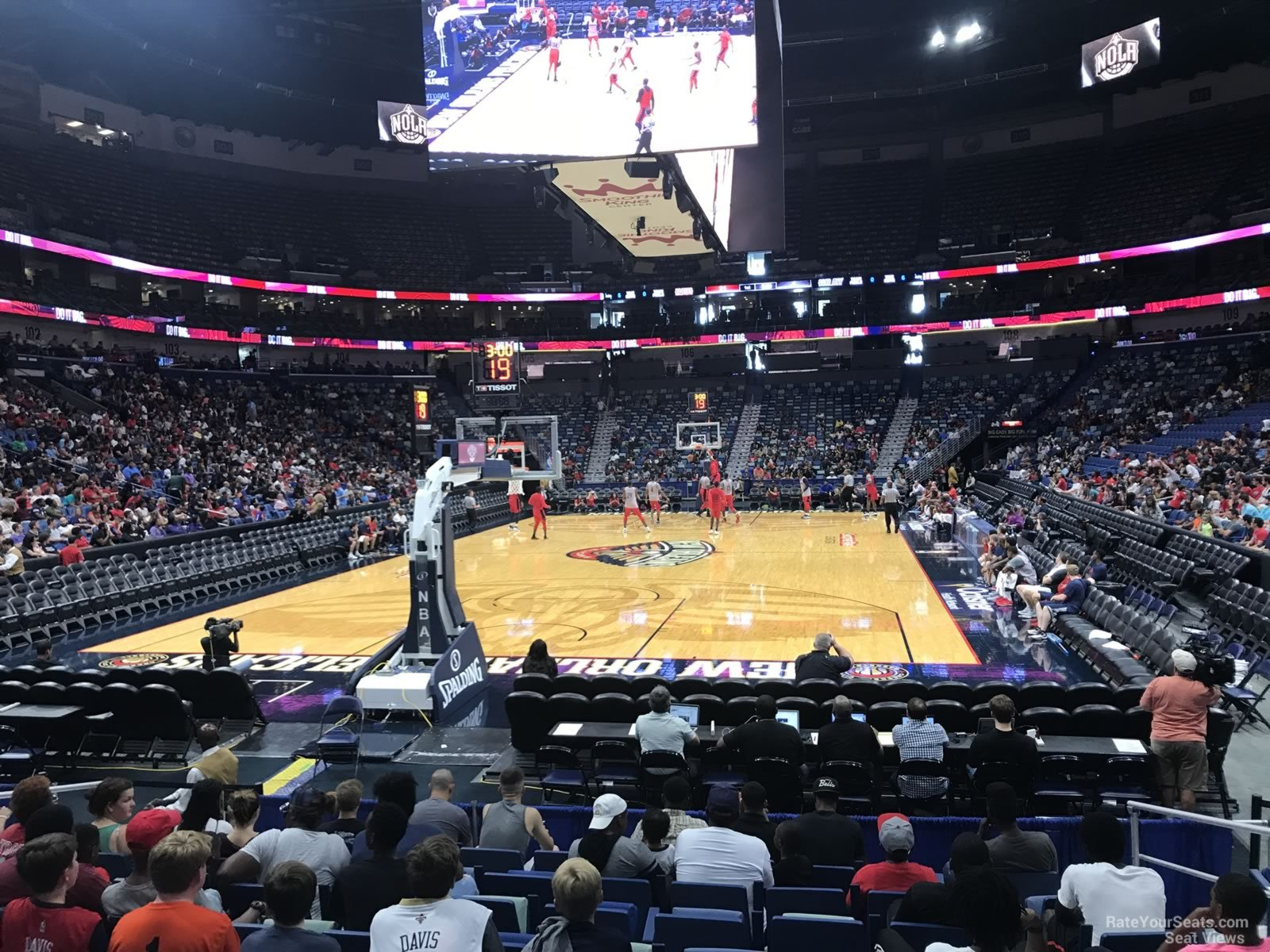 Smoothie King Center Section 118 - New Orleans Pelicans ...