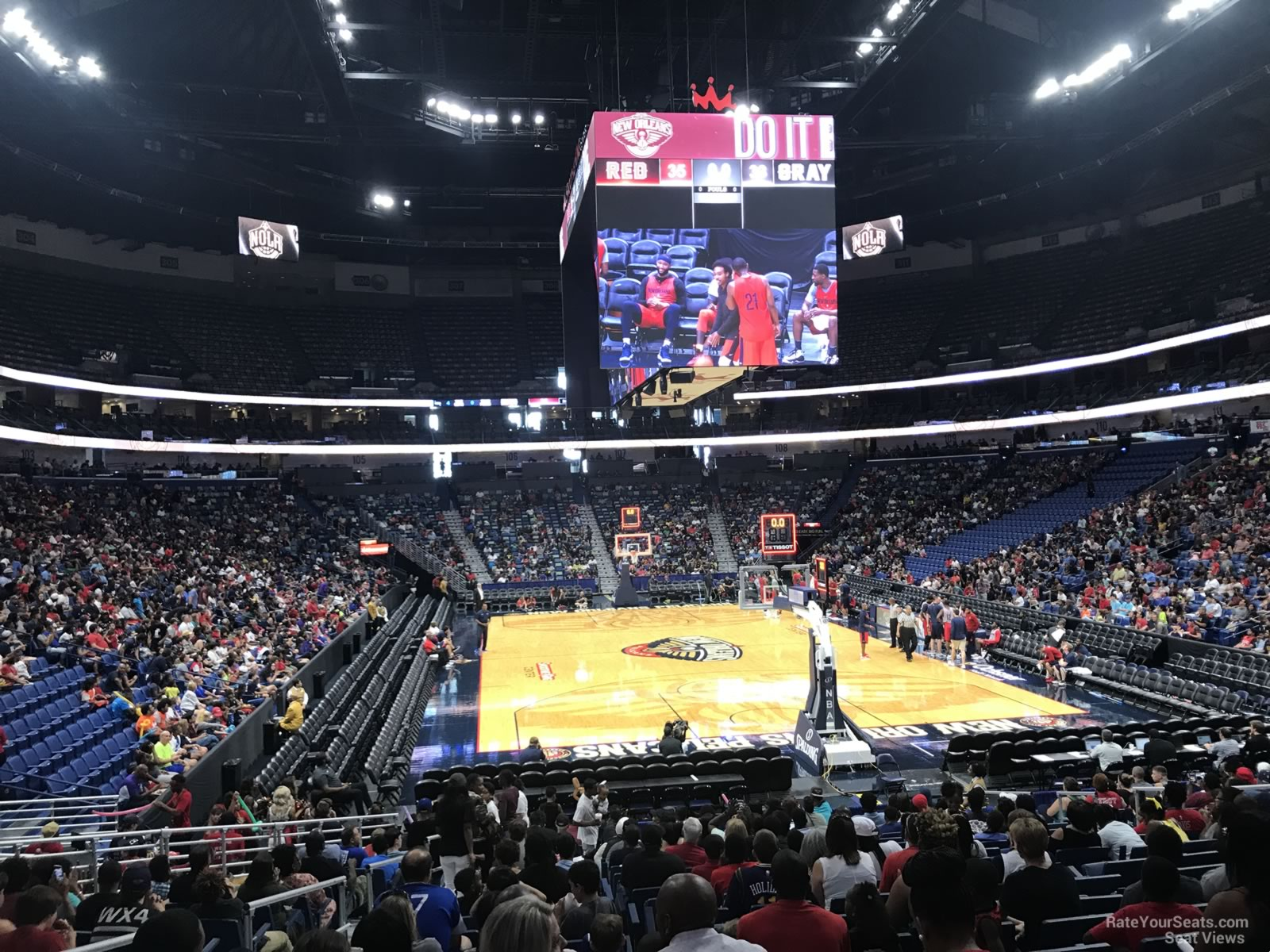 Smoothie King Center Section 119 New Orleans Pelicans